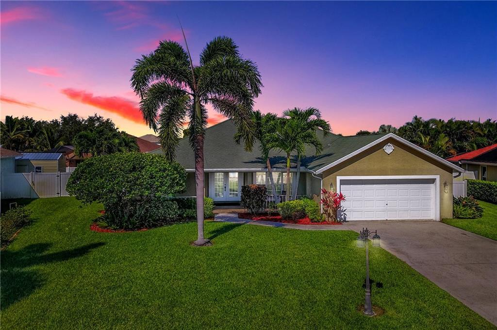 Home for sale in Jensen Park Estates Jensen Beach Florida