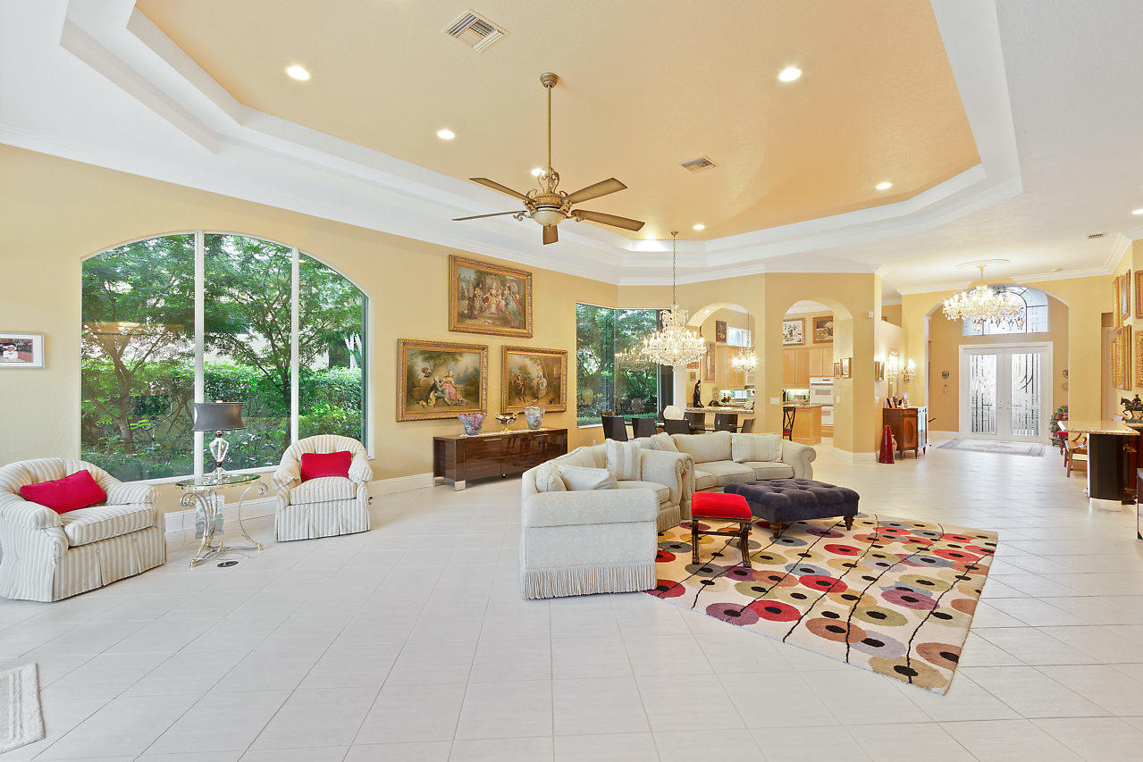 Expansive Living and Dining Room Area