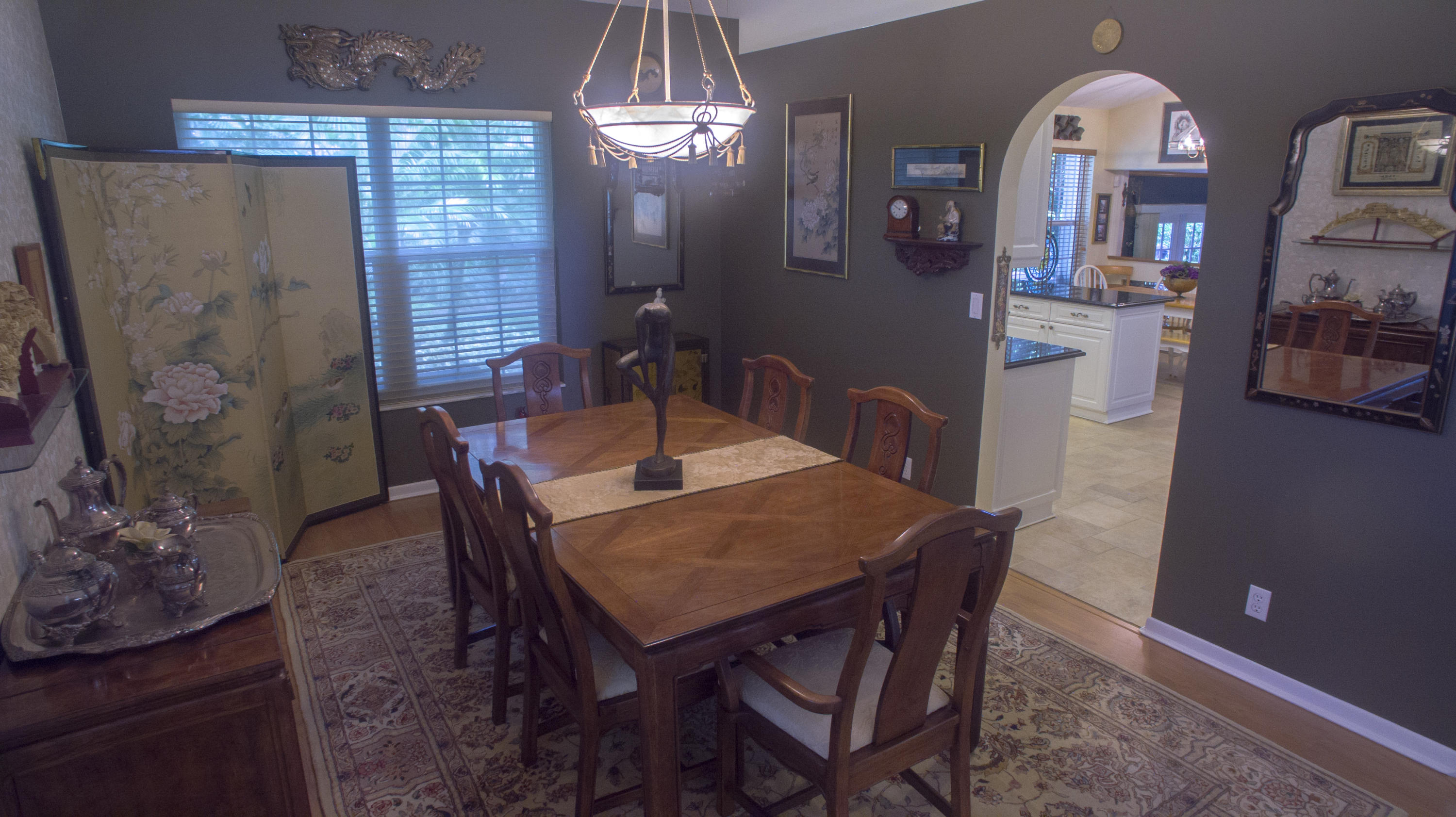 Formal Dining off of the kitchen