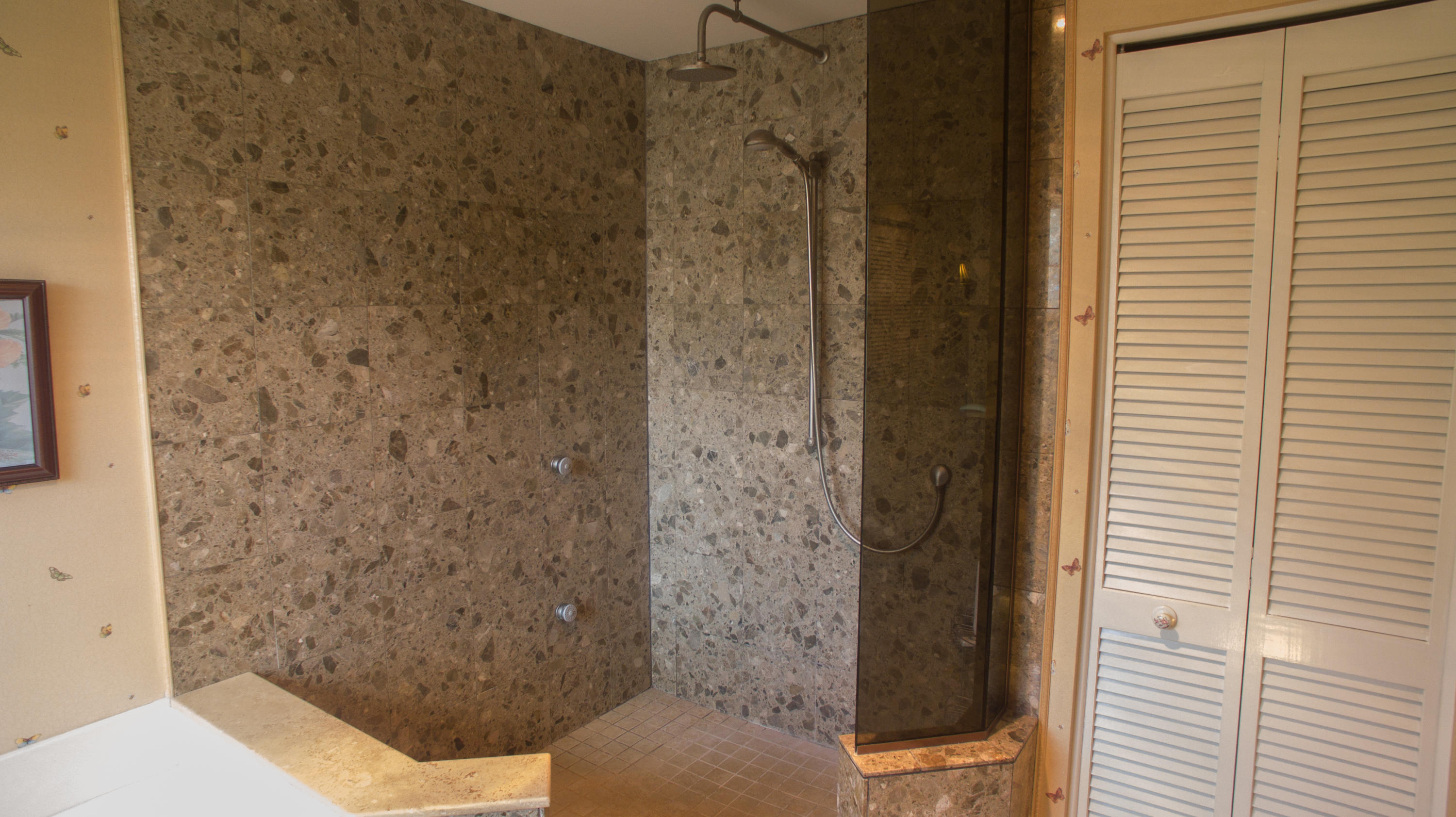 Master Shower with Turkish Tile