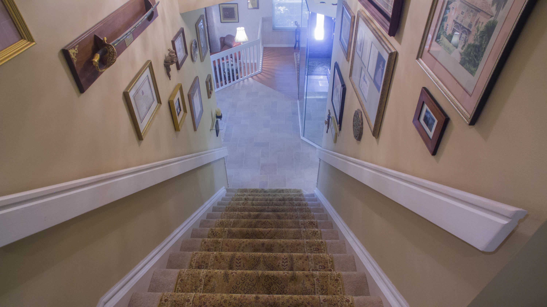 Stairways to 2nd floor