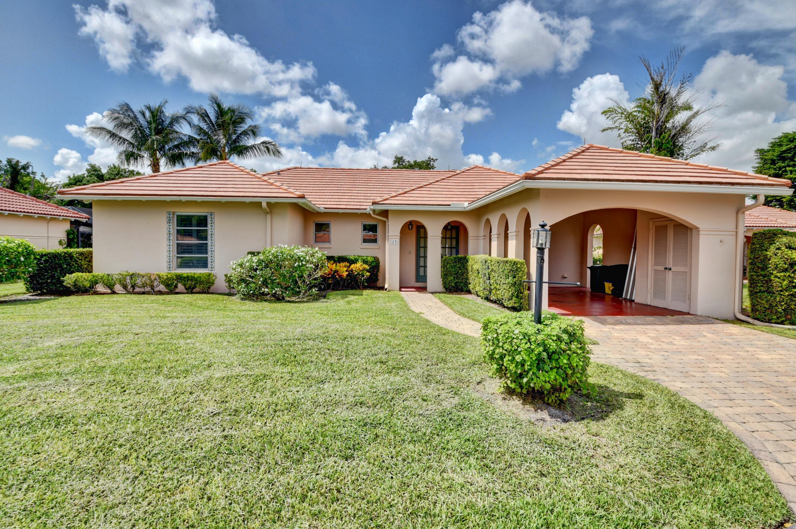 13 Fairway Drive Boynton Beach, FL 33436