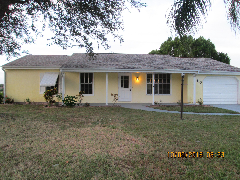 Port Saint Lucie Homes for Sale -  Waterfront,  418 SW Bridgeport Drive