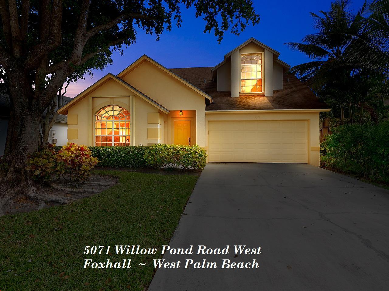 5071 Willow Pond Road West Palm Beach, FL 33417