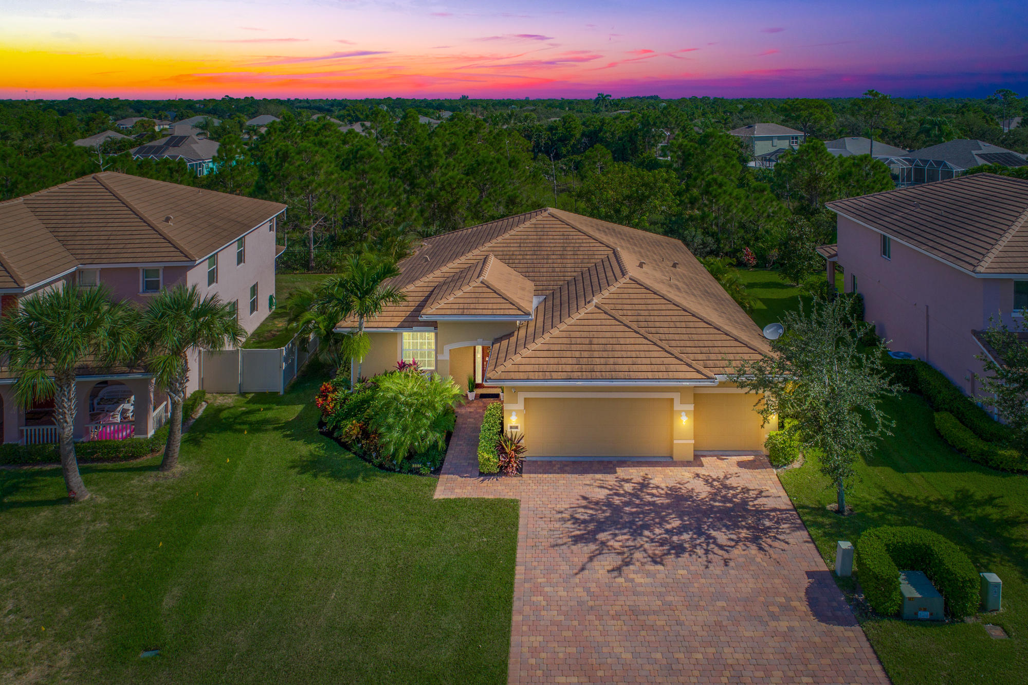 Home for sale in PINEAPPLE PLANTATION PL 7 PH A - The Pines Jensen Beach Florida