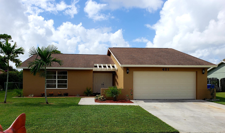 421 Las Palmas Street - Royal Palm Beach, Florida