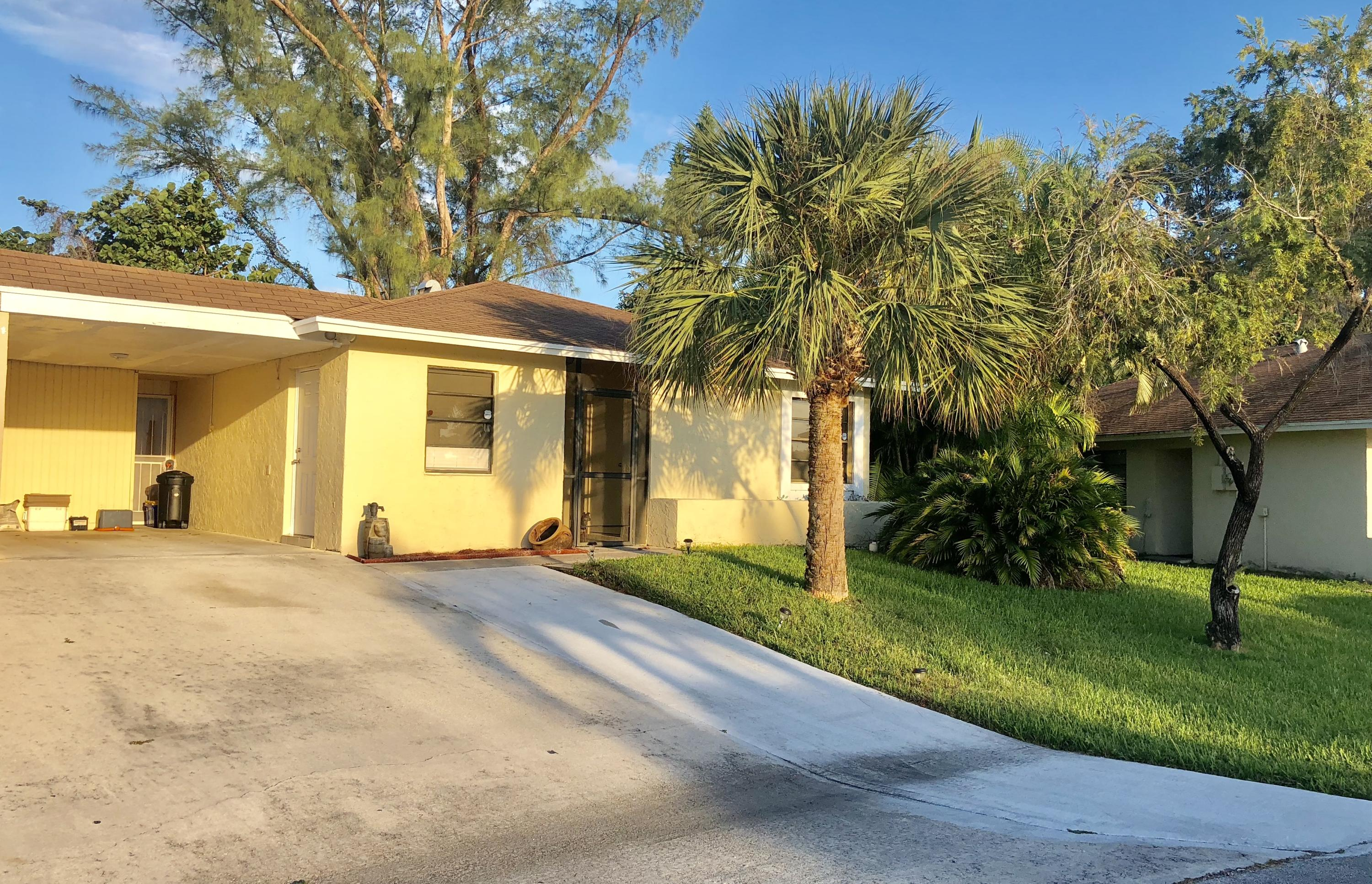 Home for sale in PALM HILL VILLAS UNIT THREE West Palm Beach Florida