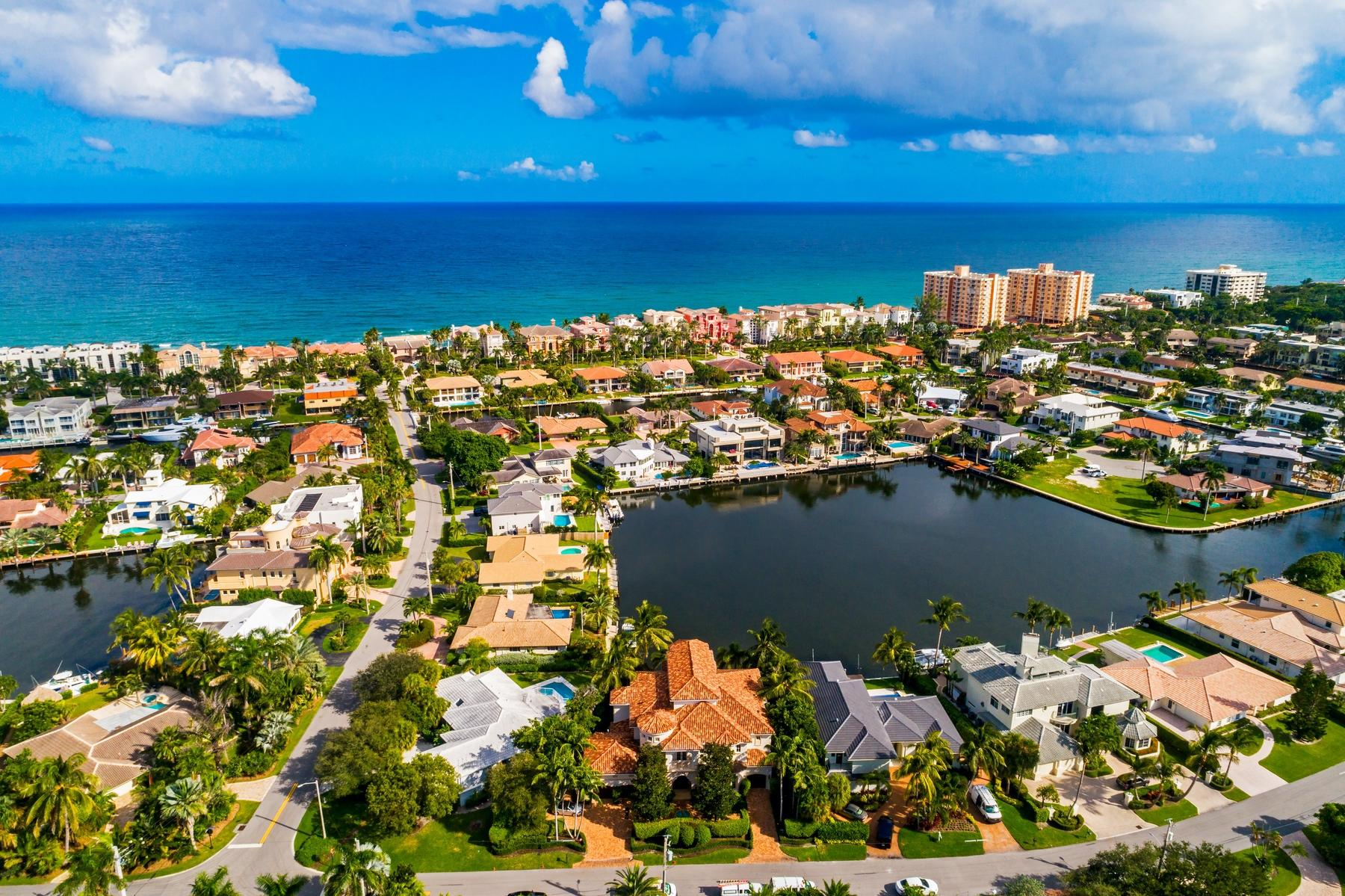 Home for sale in Bel Lido Isles Boca Raton Florida