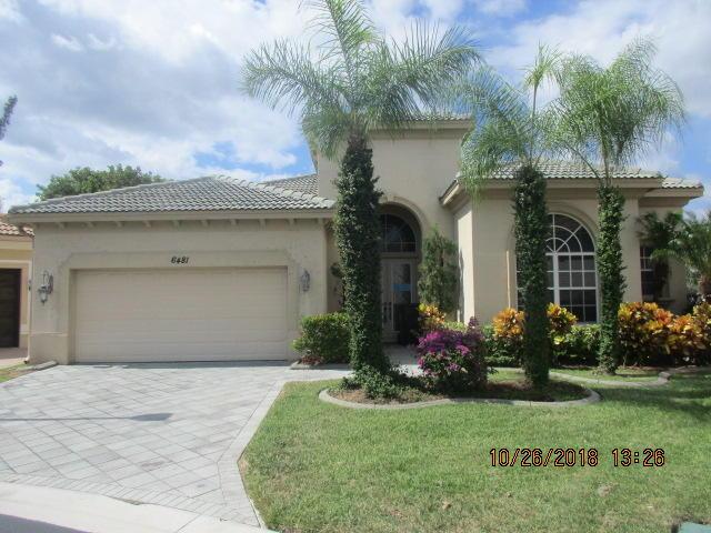 6481 Garden Court West Palm Beach, FL 33411
