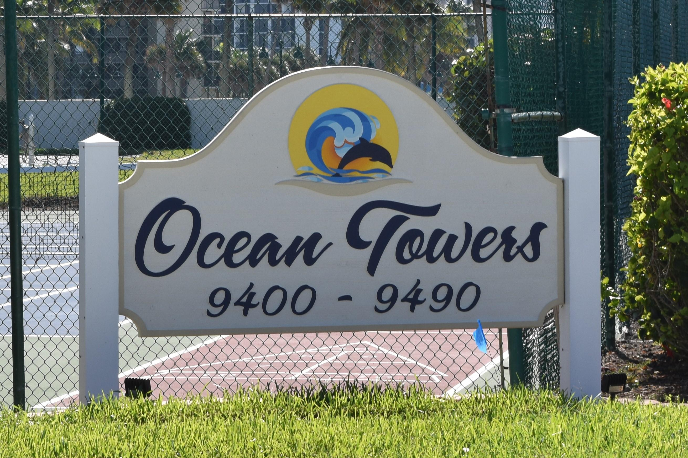 OCEAN TOWERS JENSEN BEACH REAL ESTATE