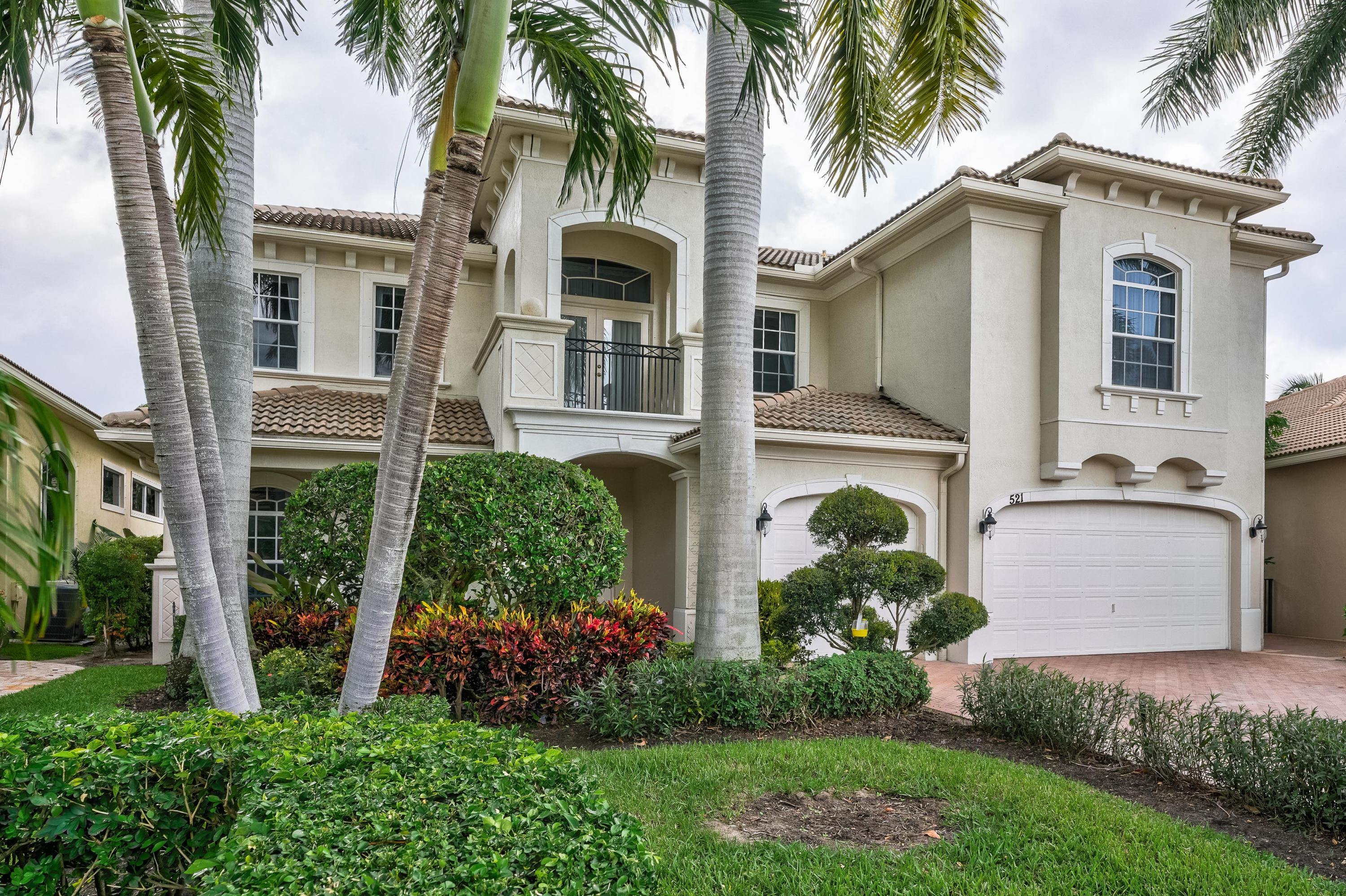 New Home for sale at 521 Les Jardin Drive in Palm Beach Gardens