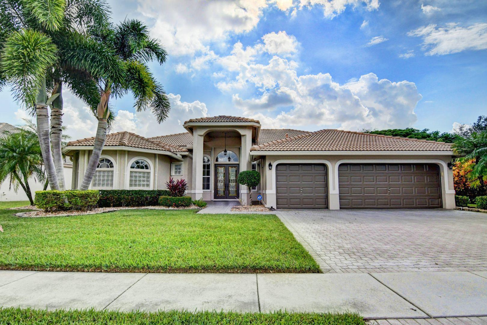 Home for sale in Bristol Lakes Boynton Beach Florida