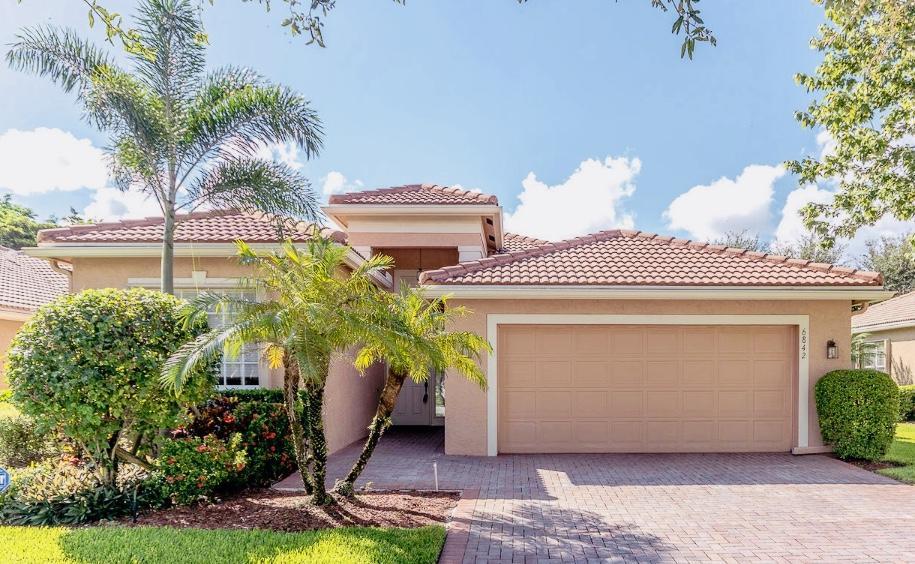 VALENCIA POINTE home 6842 Watertown Drive Boynton Beach FL 33437