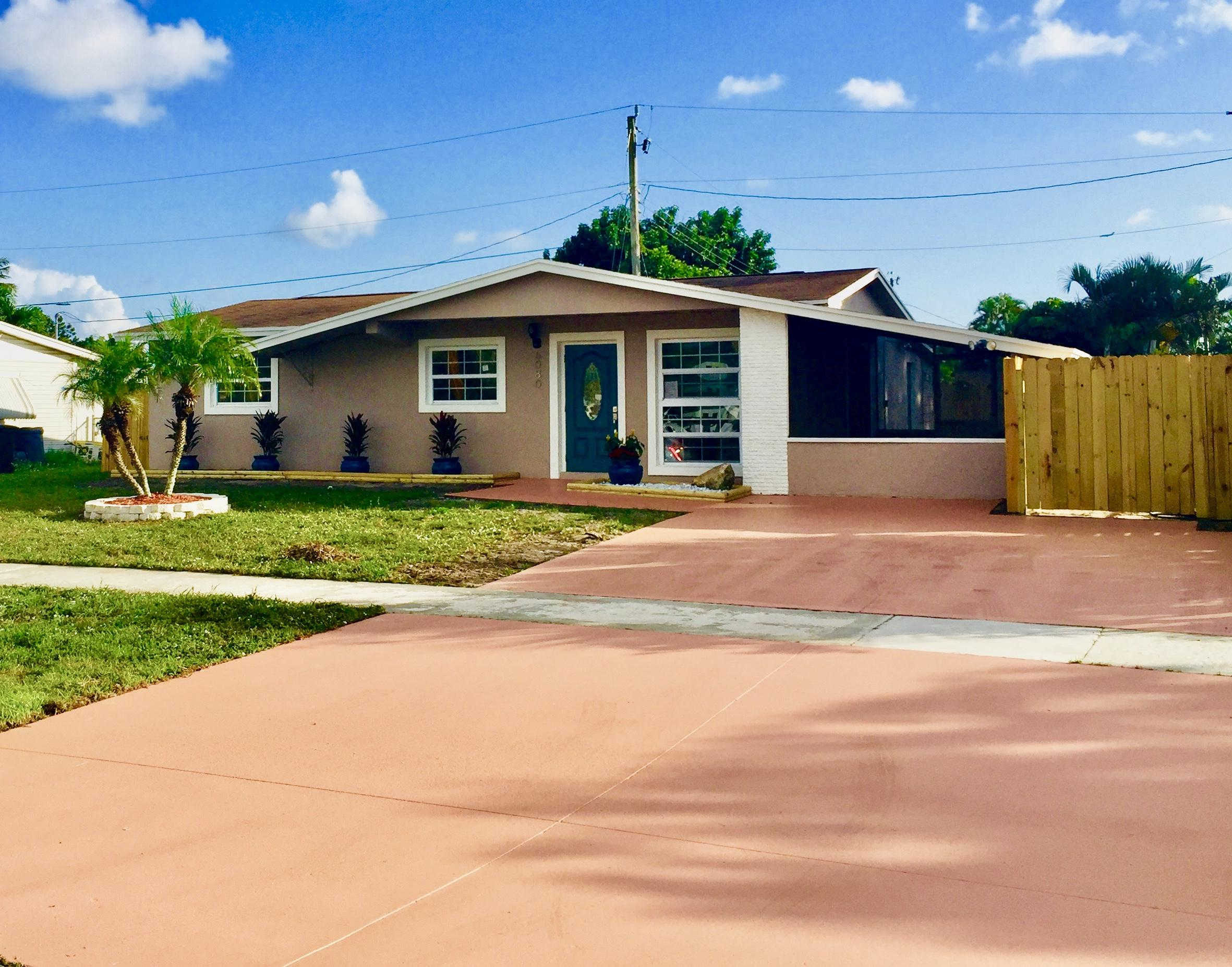 Home for sale in MEADOWBROOK PLAT 2 IN West Palm Beach Florida