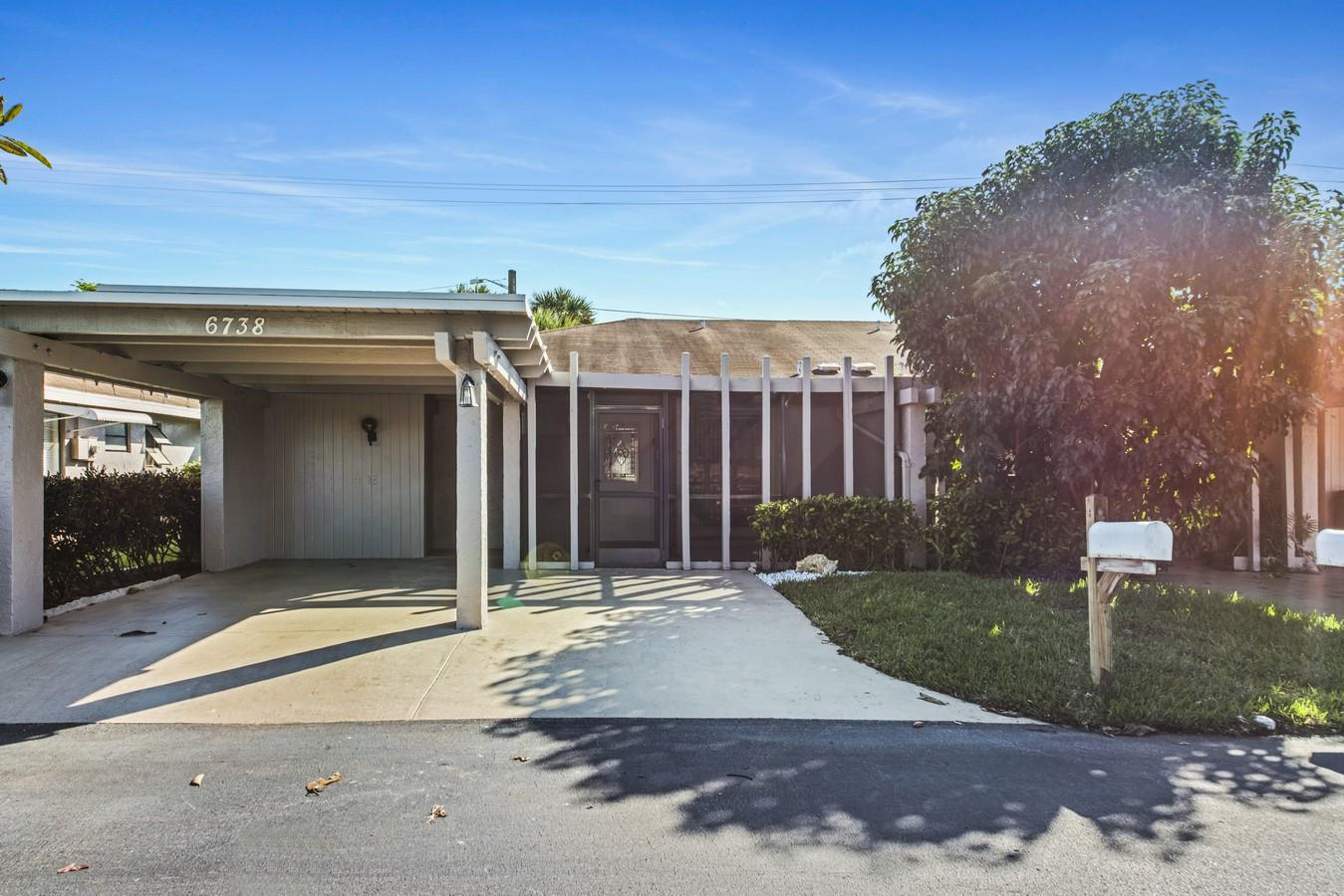 Home for sale in Camelot Village Delray Beach Florida
