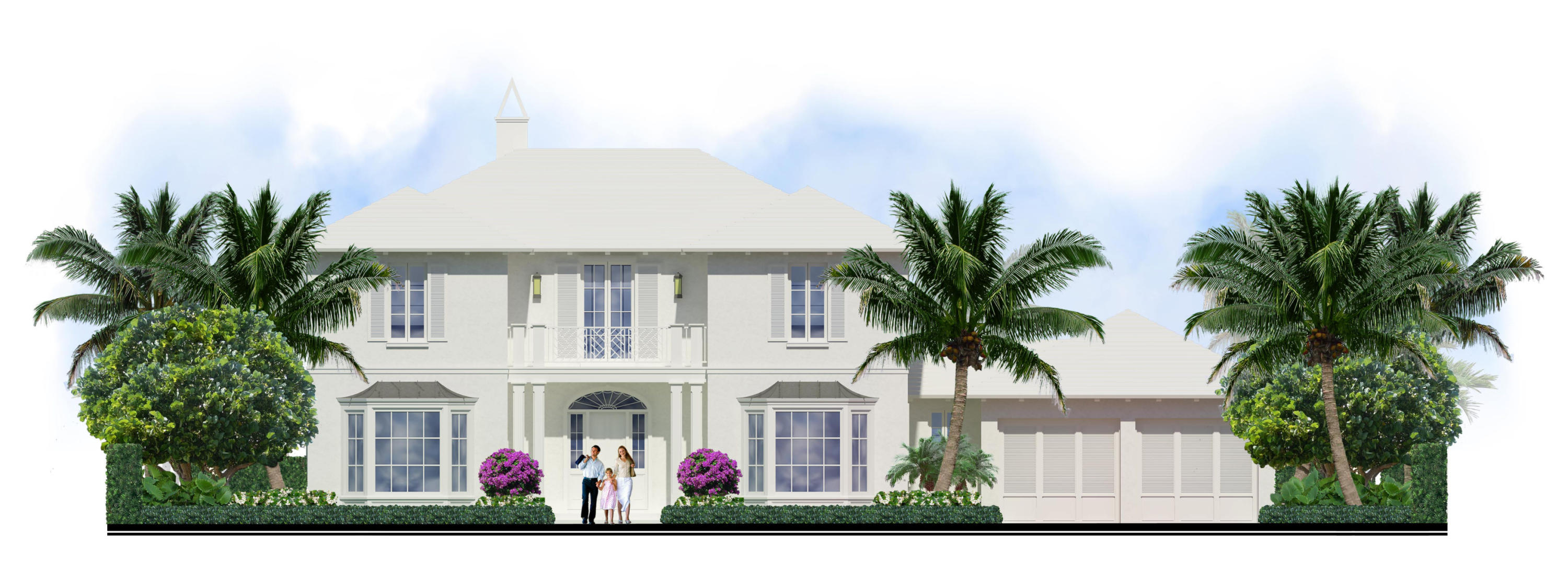 New Home for sale at 218 La Puerta Way in Palm Beach