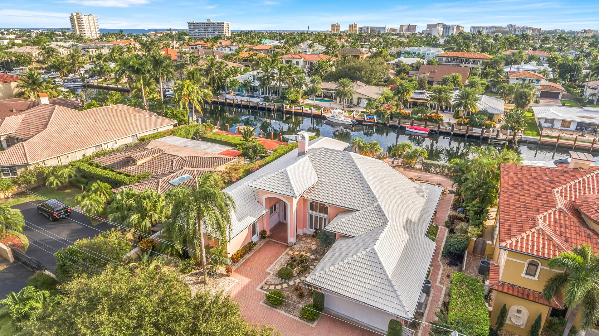Home for sale in Hillsboro Isles Lighthouse Point Florida