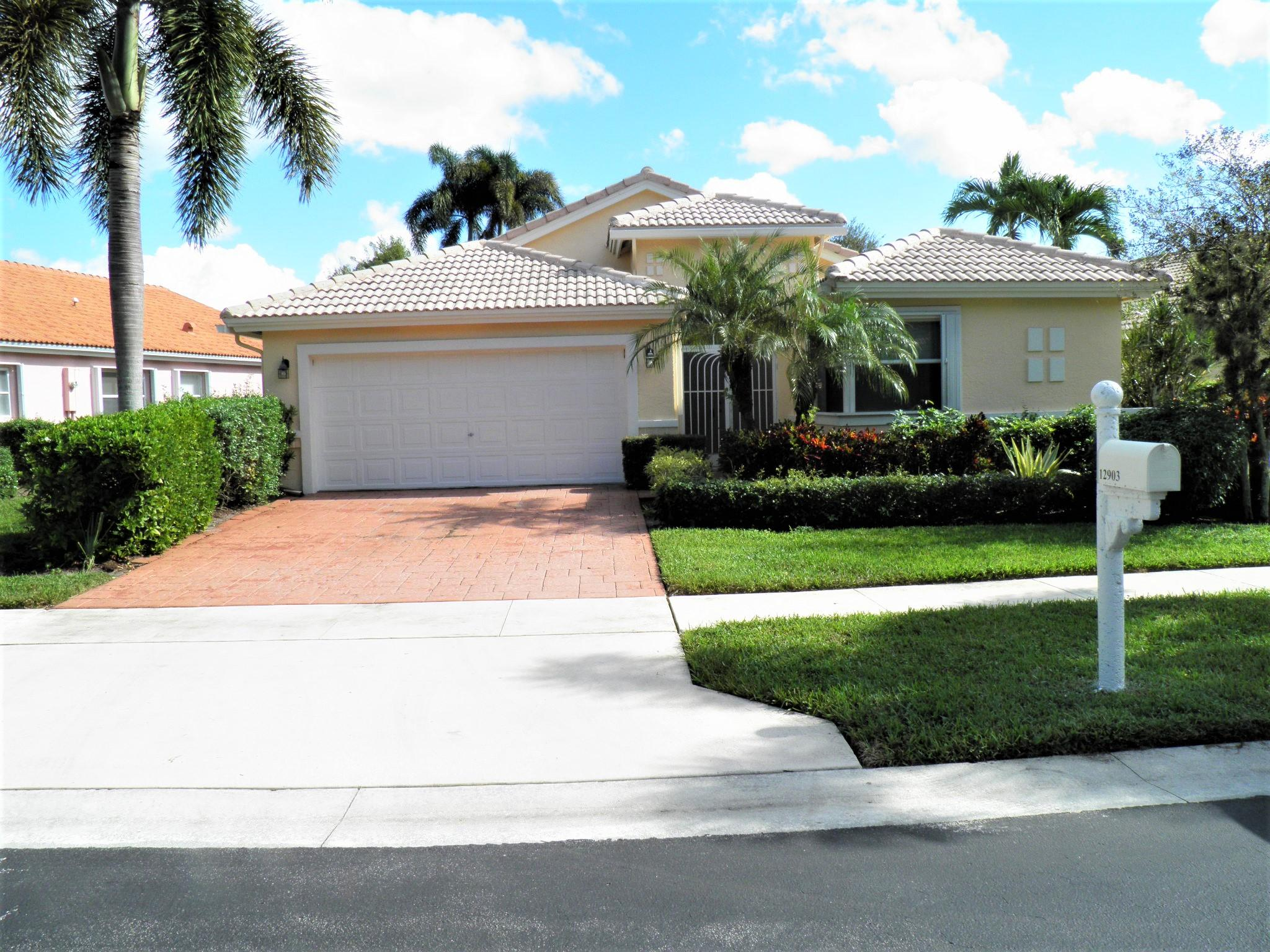 CORAL LAKES III/REGENCY COVE NORTH home 12903 Coral Lakes Drive Boynton Beach FL 33437