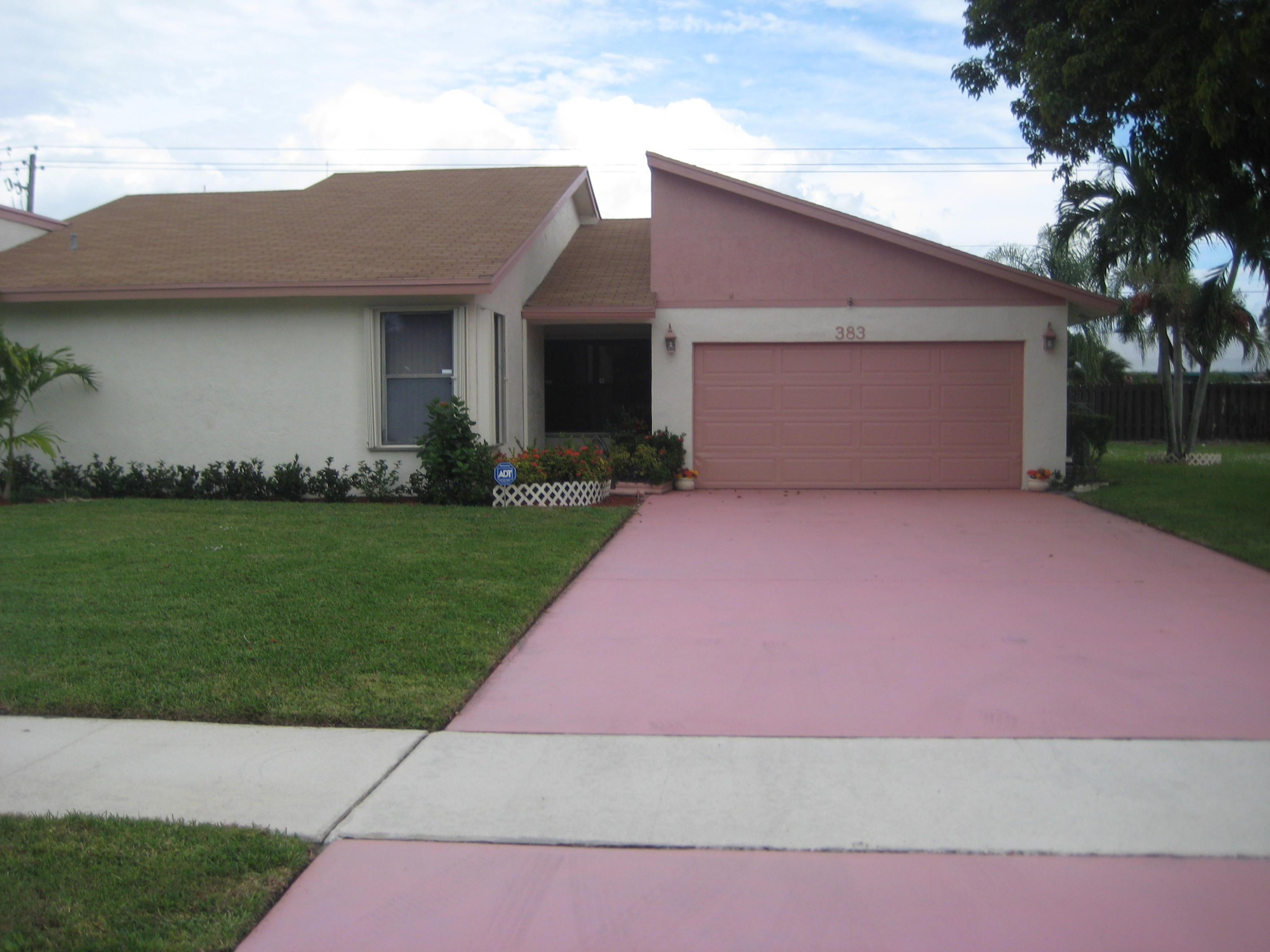 Home for sale in HOMEWOOD LAKES SEC A Delray Beach Florida