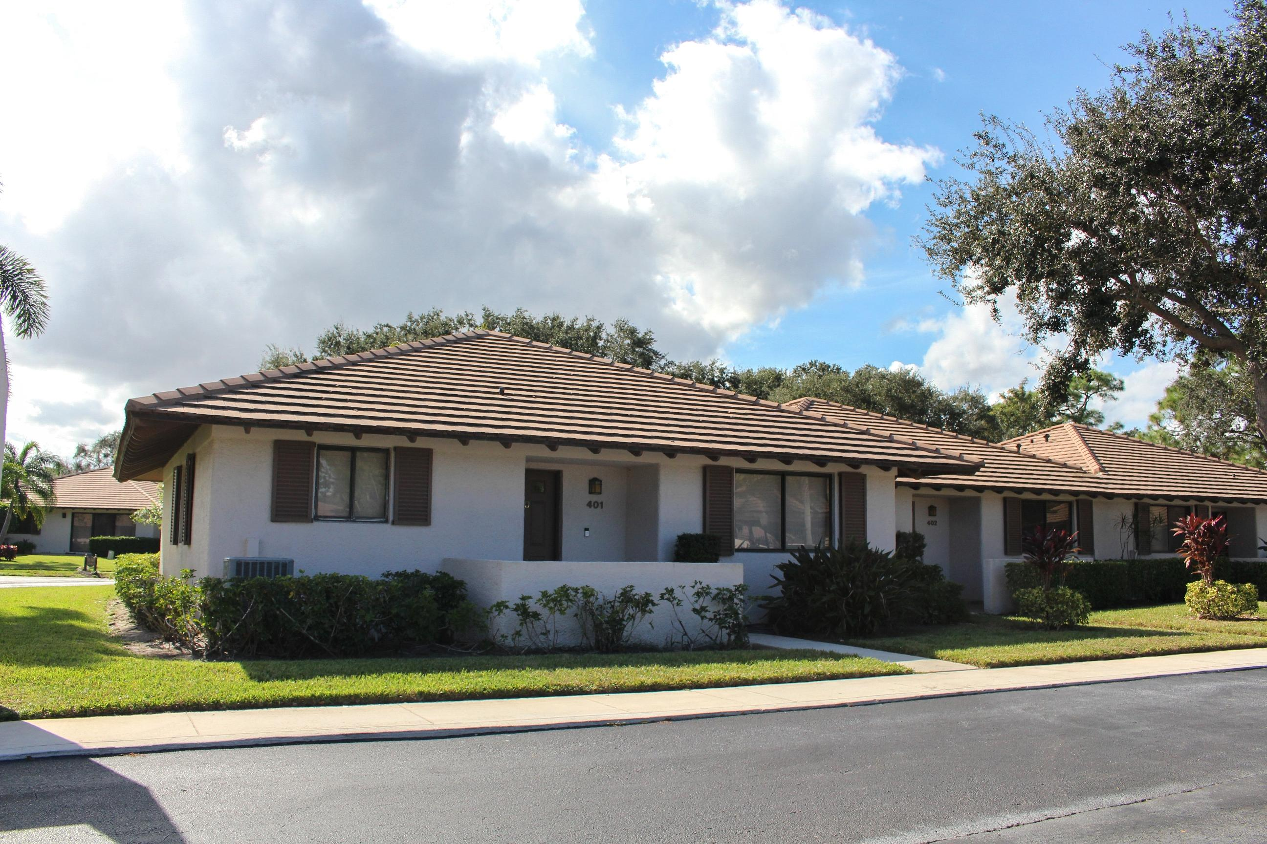 401 Club Drive, Palm Beach Gardens, Florida 33418, 2 Bedrooms Bedrooms, ,2 BathroomsBathrooms,A,Villa,Club,RX-10483449
