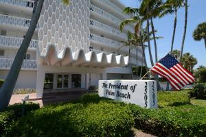 President Of The Palm Beach