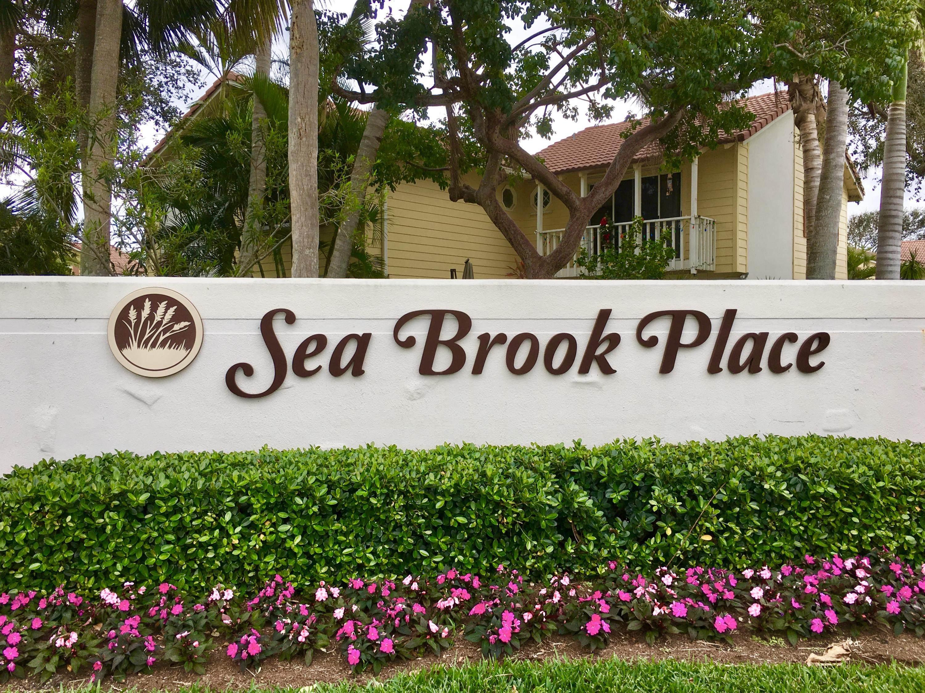 Home for sale in sea brook place condo Jupiter Florida