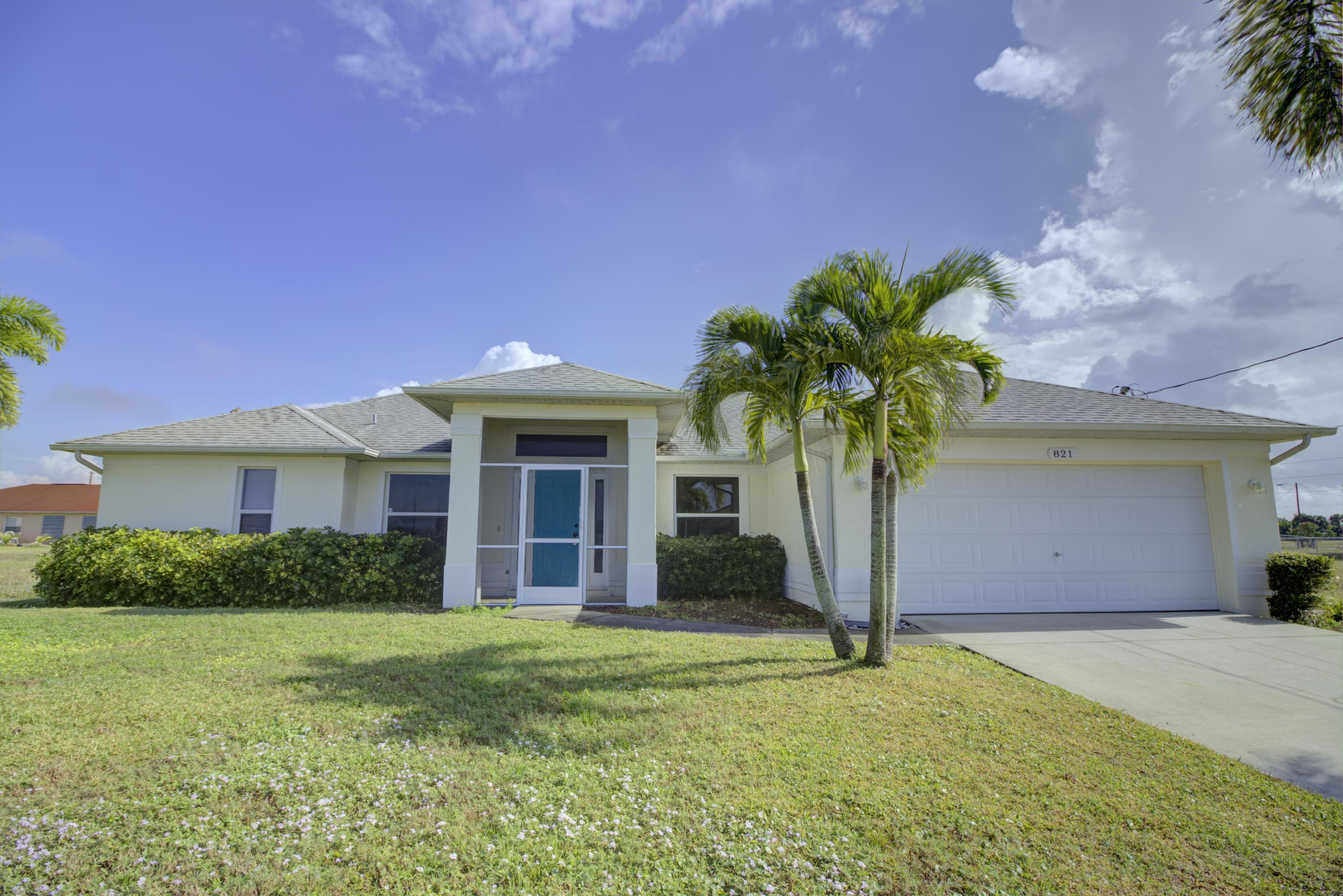 821 NW 20th Avenue, Cape Coral, Florida