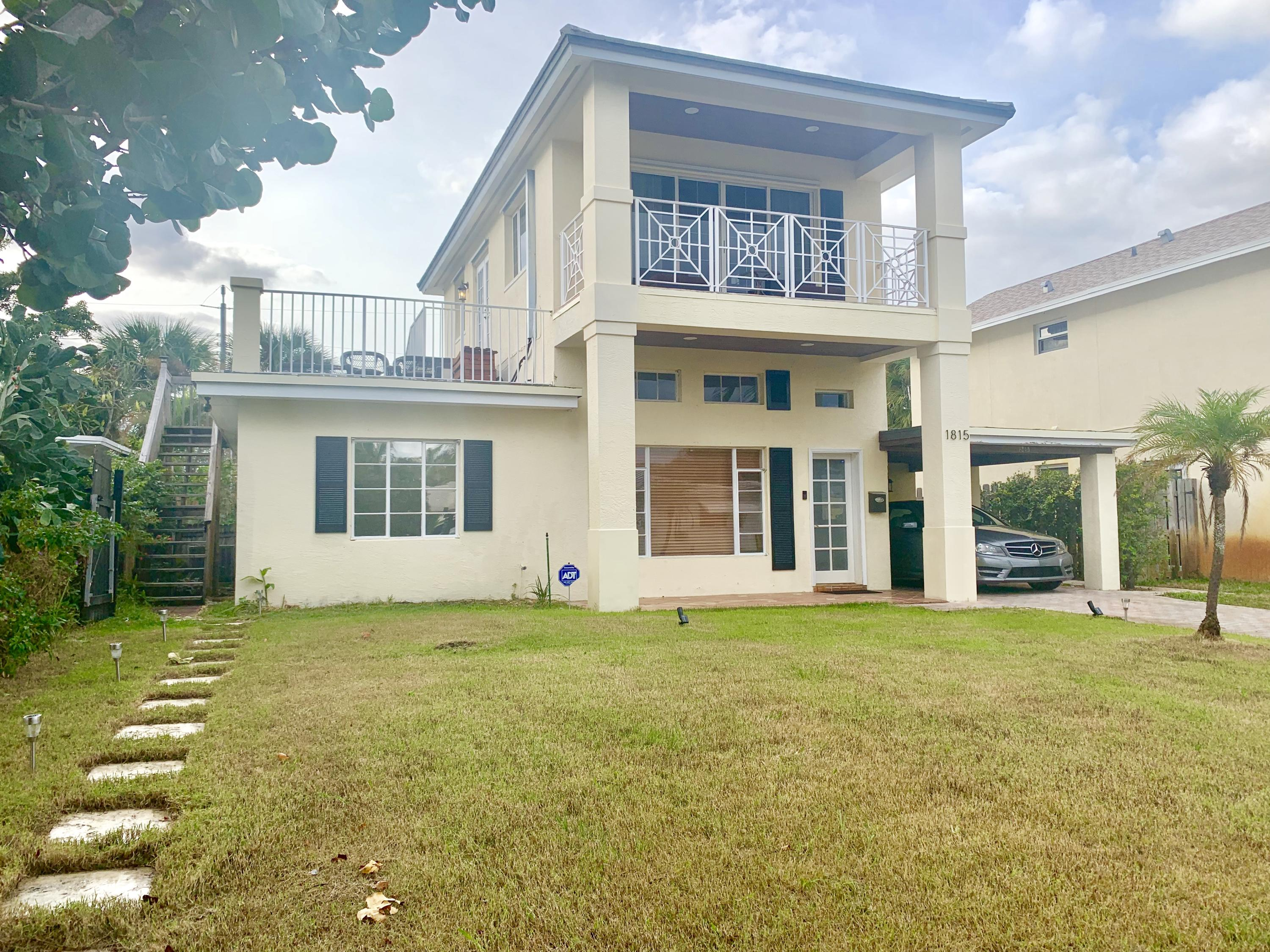 Home for sale in NORTH LAKE WORTH IN PB 5 PGS 48 & 49 Lake Worth Florida