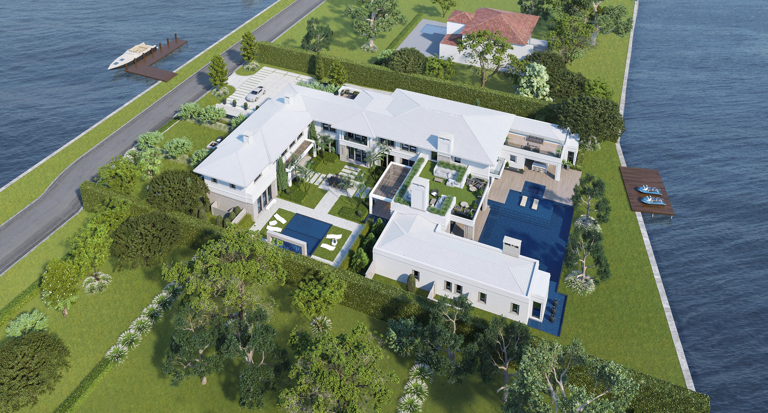 New Home for sale at 520 Island Drive in Palm Beach