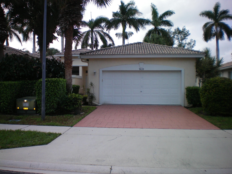PALM ISLES WEST home 9639 Crescent View Drive Boynton Beach FL 33437