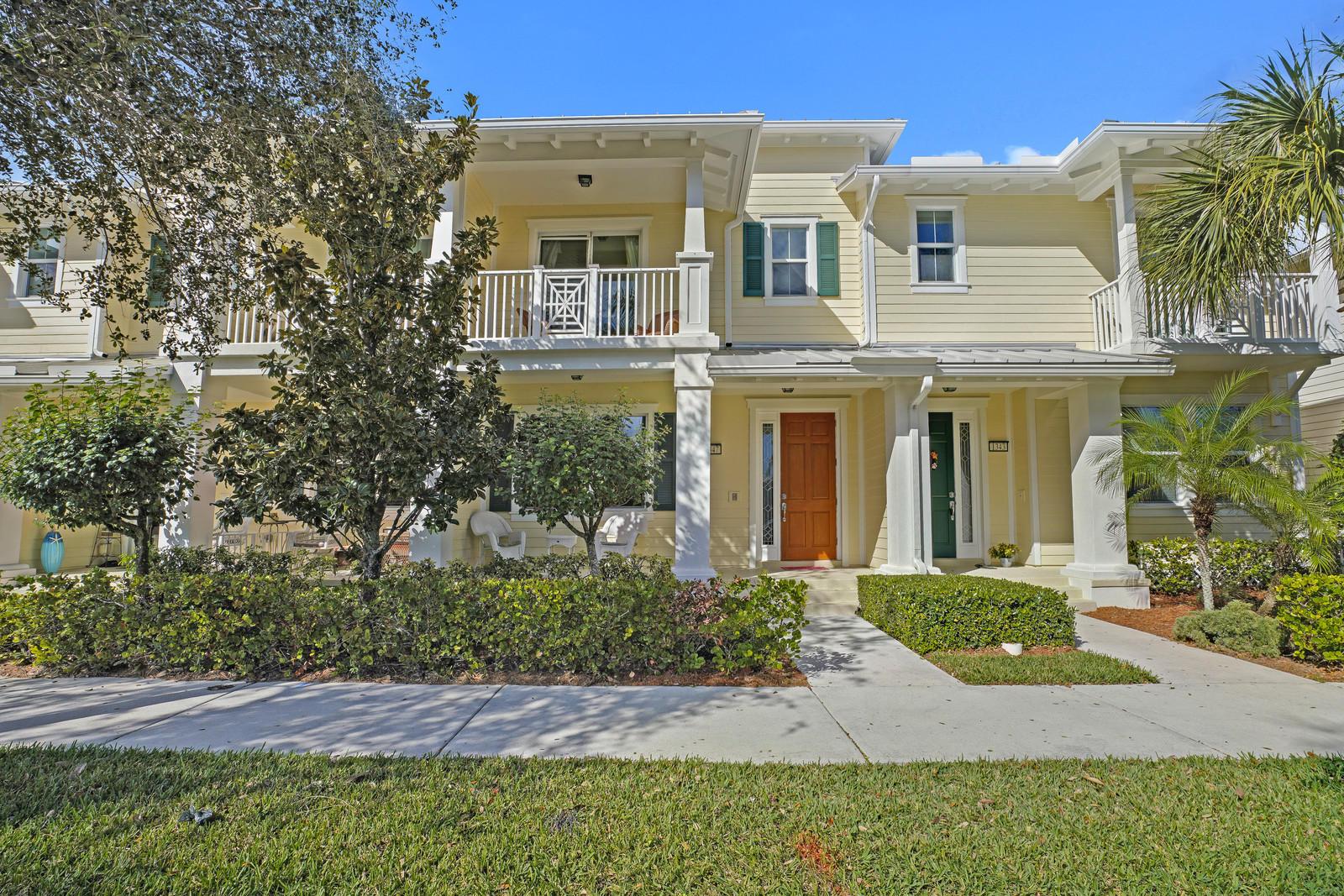 1347 Jeaga Drive, Jupiter, Florida 33458, 3 Bedrooms Bedrooms, ,2.1 BathroomsBathrooms,A,Townhouse,Jeaga,RX-10488451