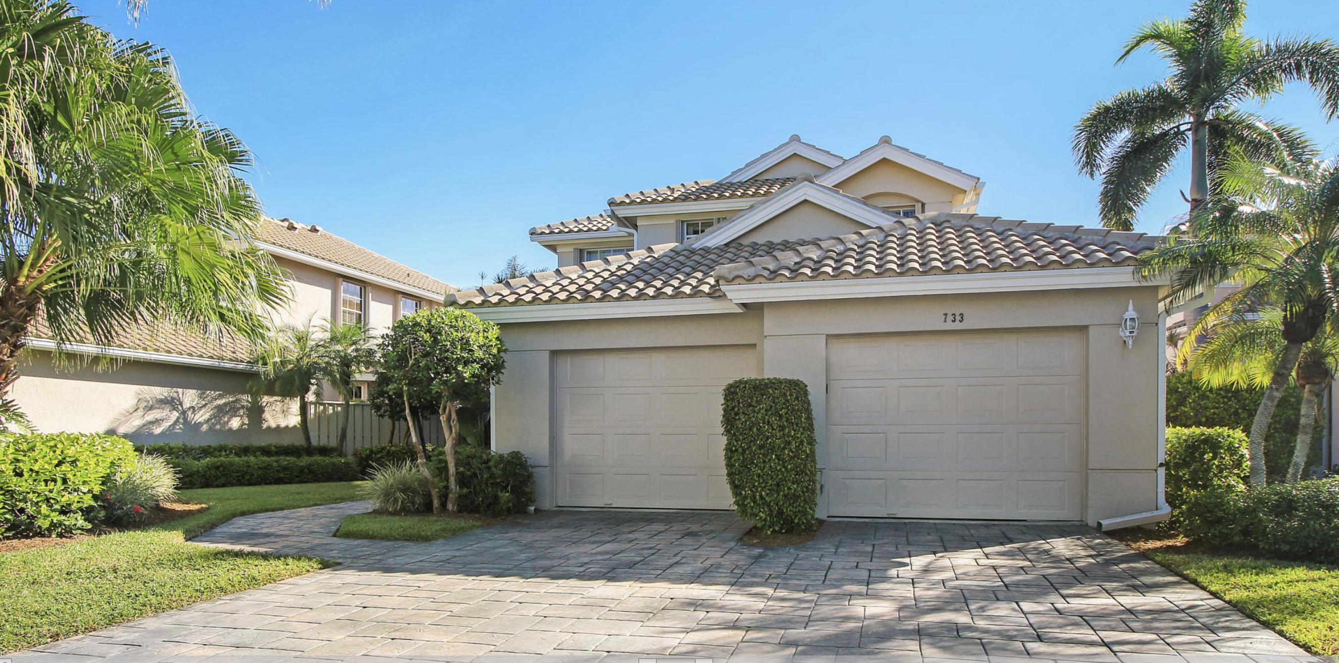 Home for sale in Pinehurst Community in Eagleton Palm Beach Gardens Florida