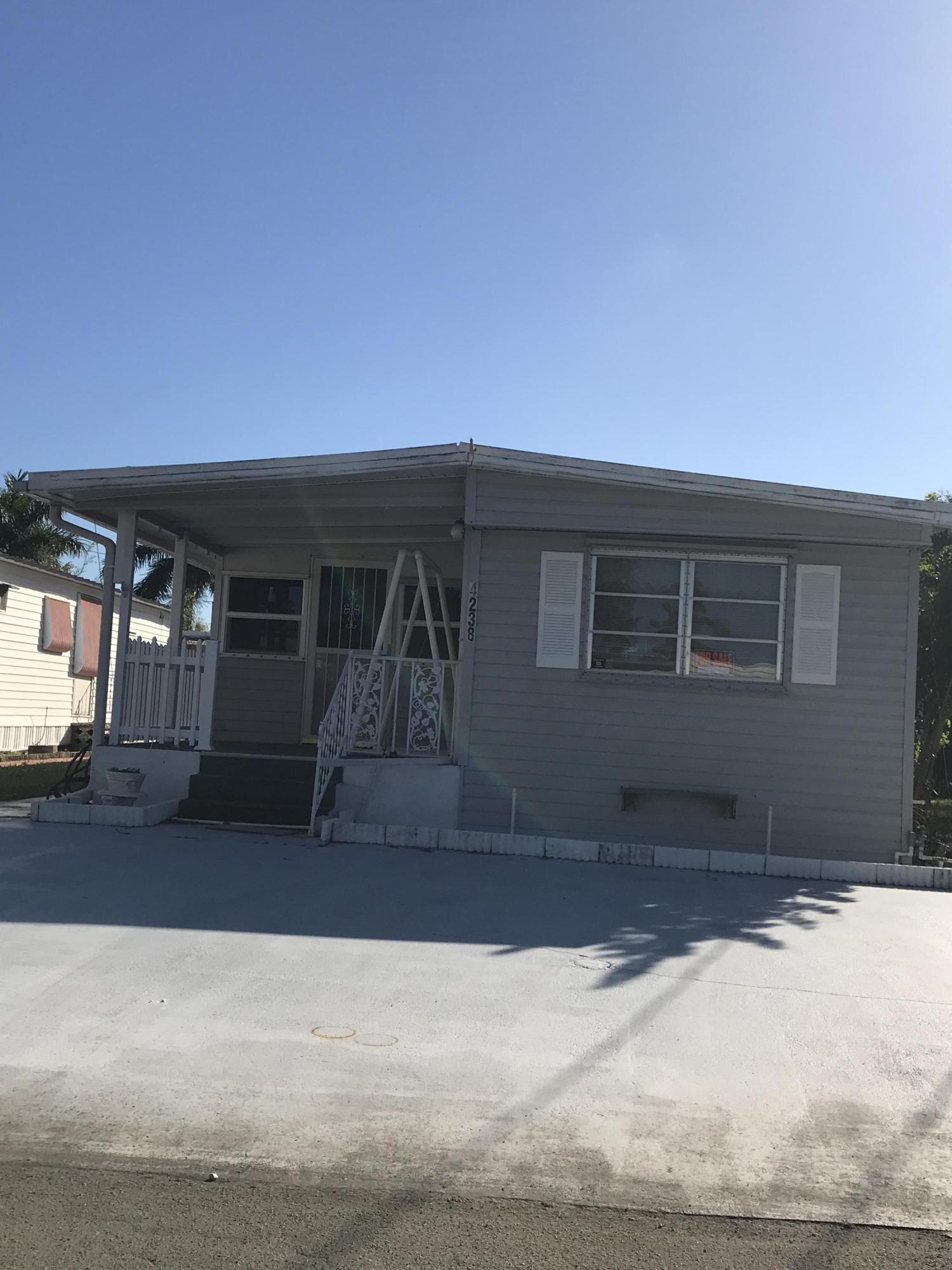 PARRY TRAILER VILLAGE home 4238 88th Place Boynton Beach FL 33436