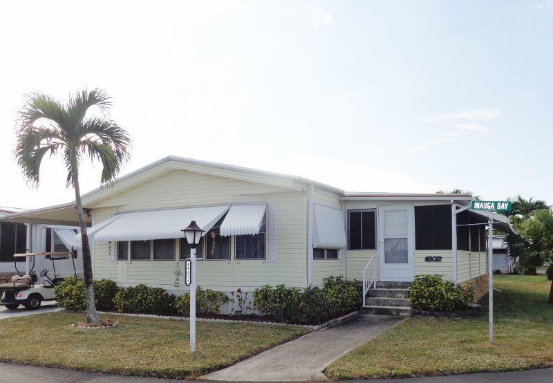 JAMAICA BAY MOBILE HOME CO OP home 49012 Inauga Bay Boynton Beach FL 33436