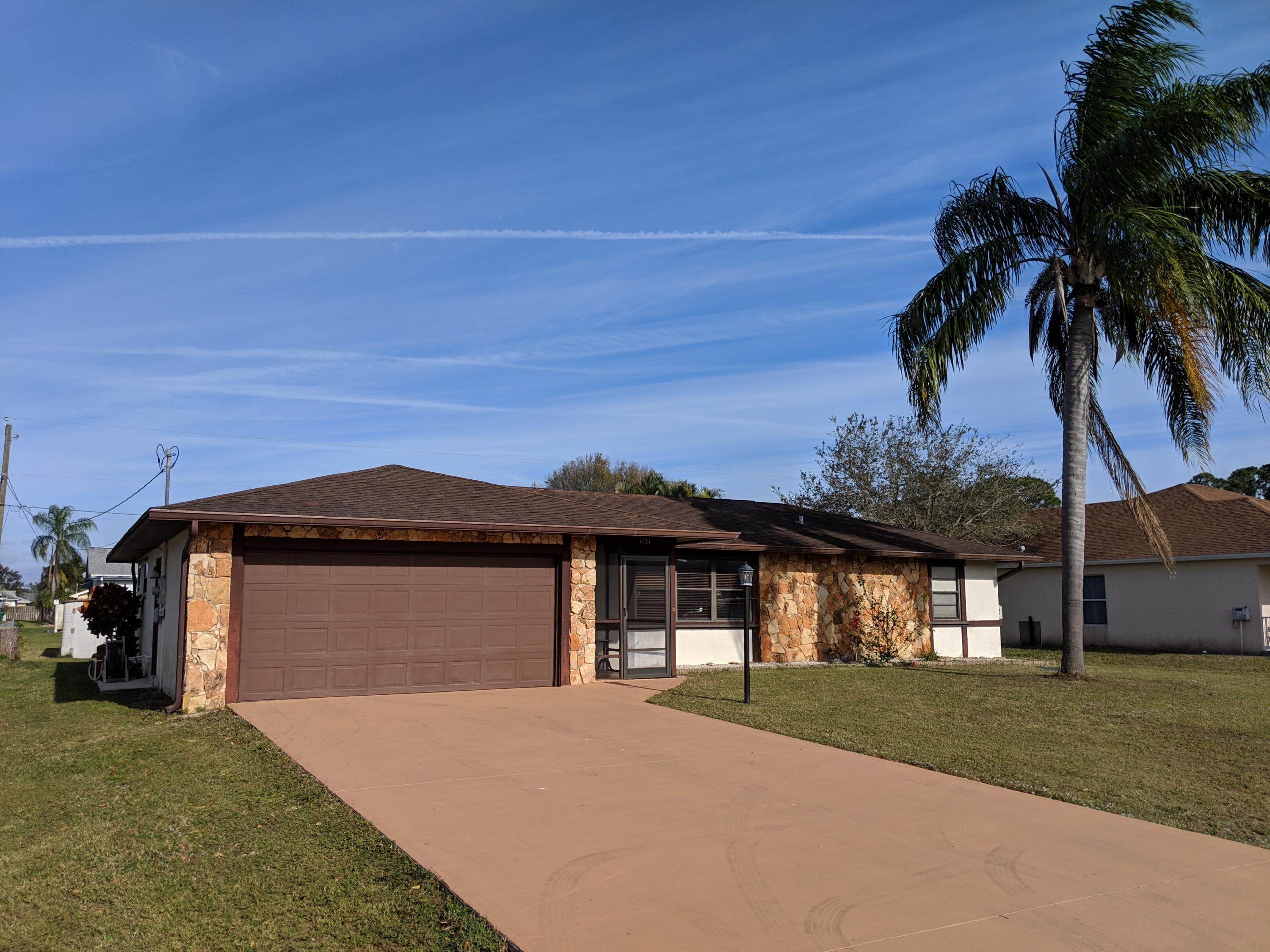 Home for sale in PSL Section 3 Port Saint Lucie Florida