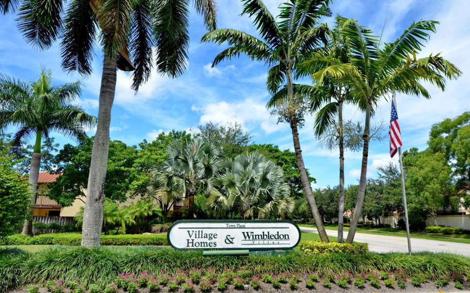 Home for sale in Wimbledon Villas Boca Raton Florida