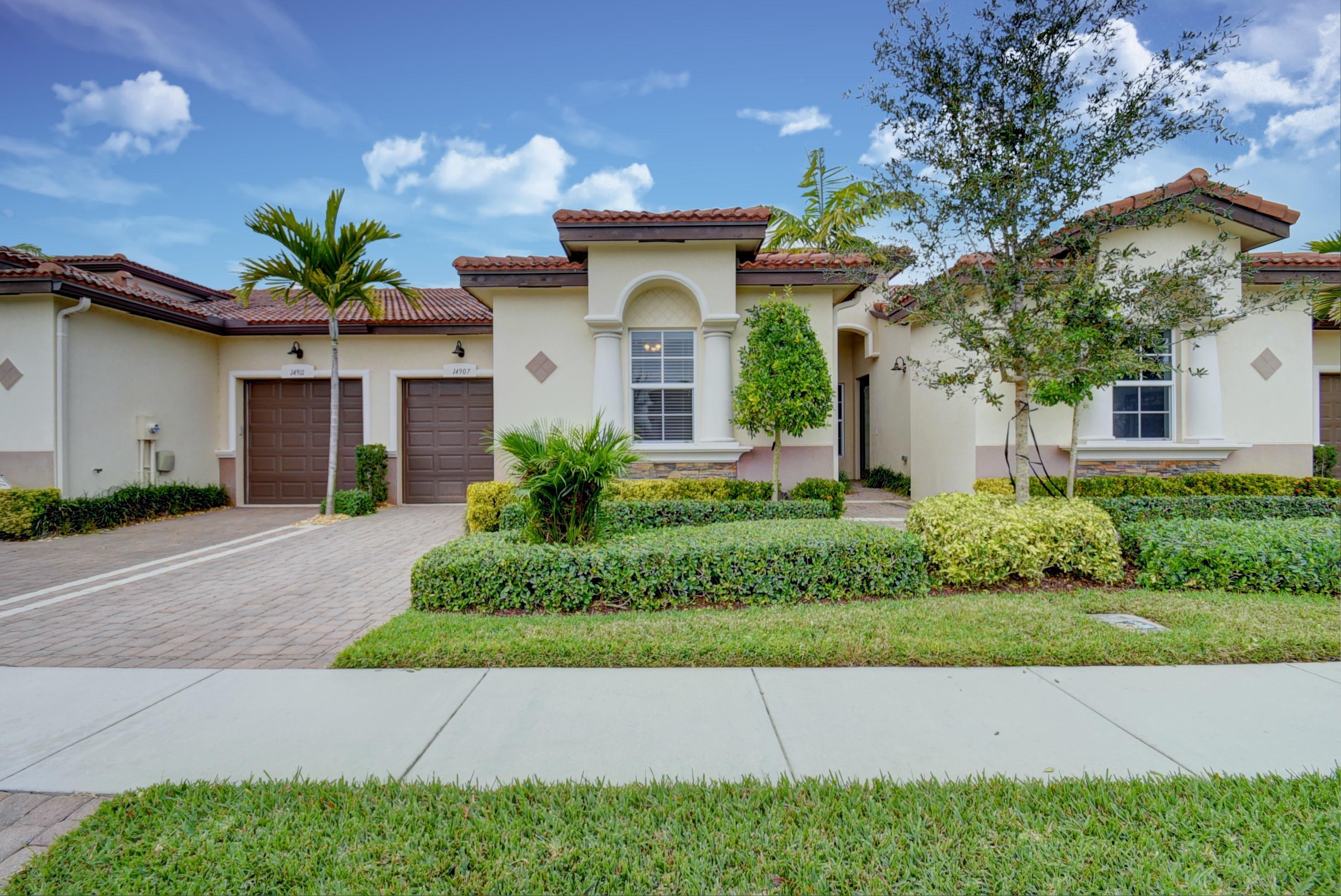 VILLAGGIO RESERVE home 14907 Barletta Way Delray Beach FL 33446