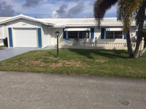 LEISUREVILLE home 1907 SW 20th Circle Boynton Beach FL 33426