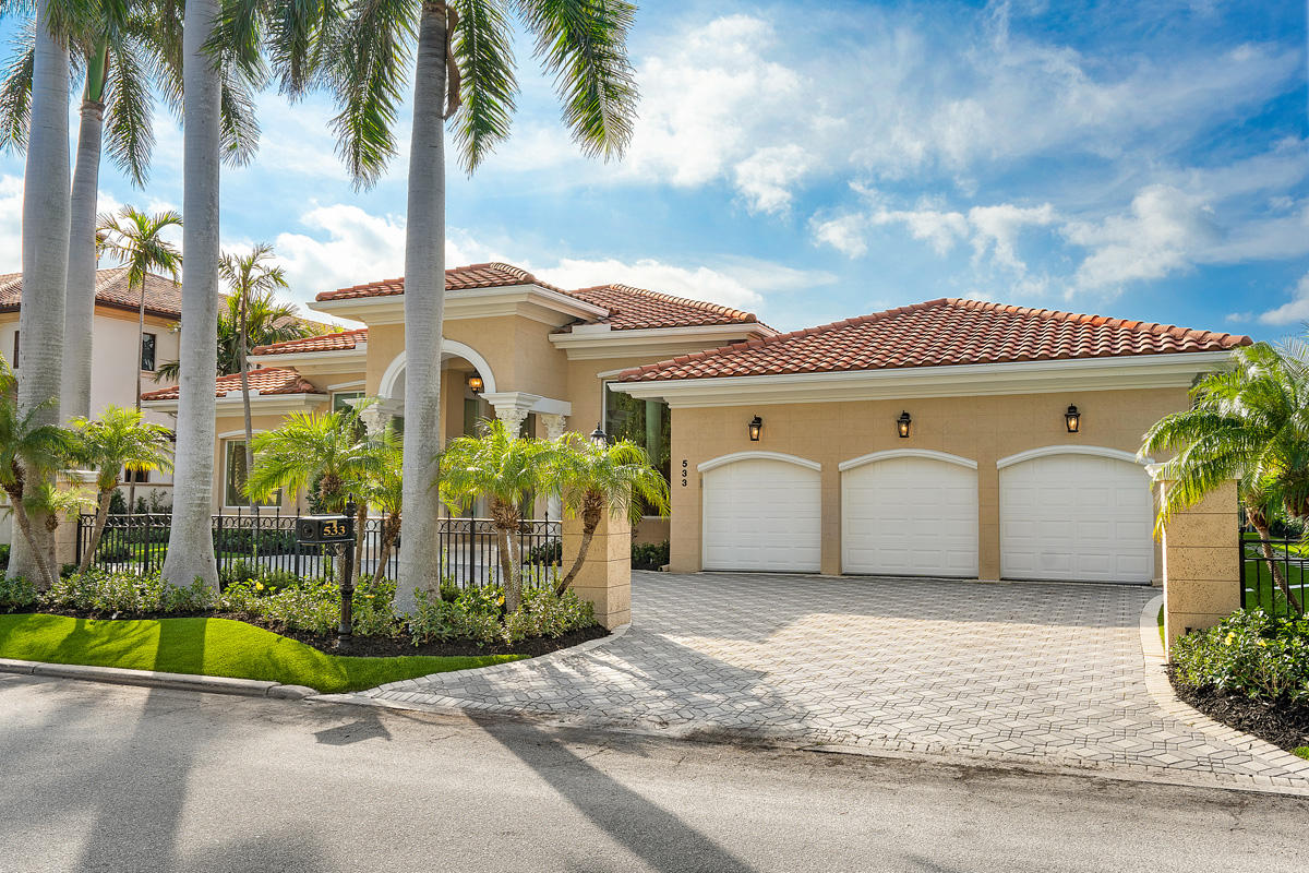 Photo of home for sale at 533 Alexander Palm Road E, Boca Raton FL