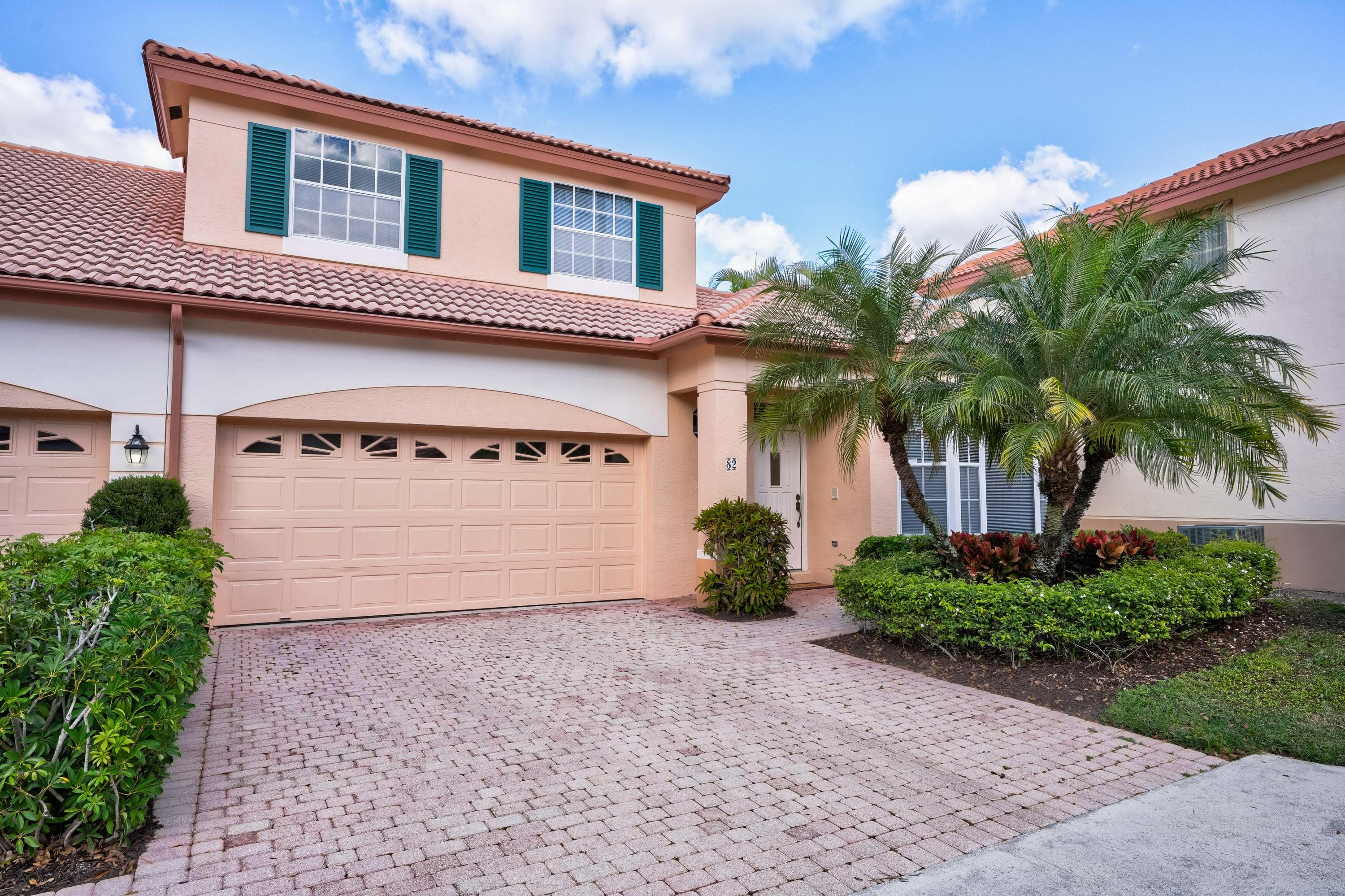 Photo of home for sale at 82 Monterey Pointe Drive Drive, Palm Beach Gardens FL