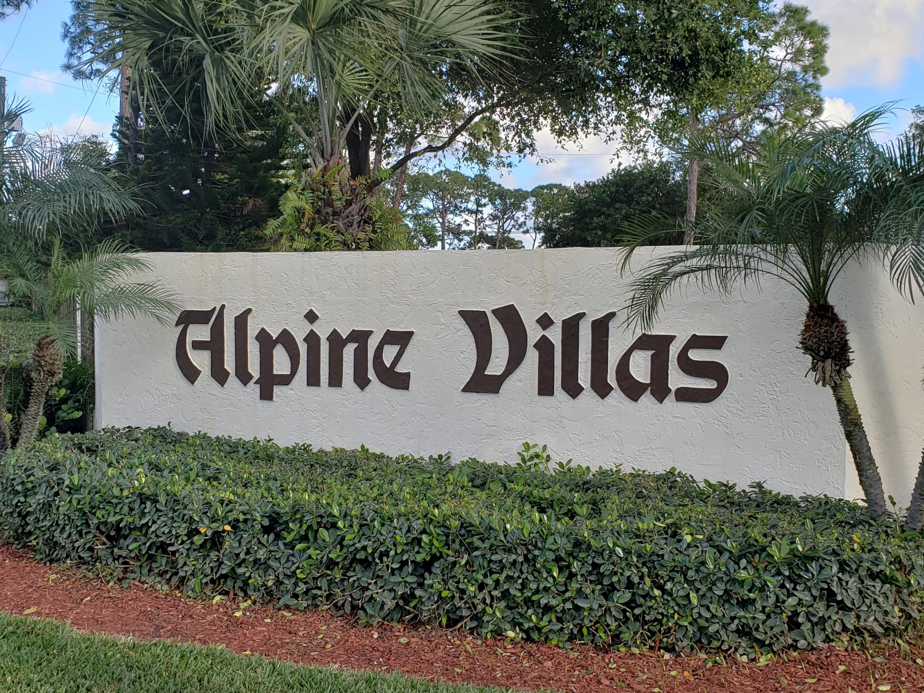 Home for sale in Alpine Villas West Palm Beach Florida