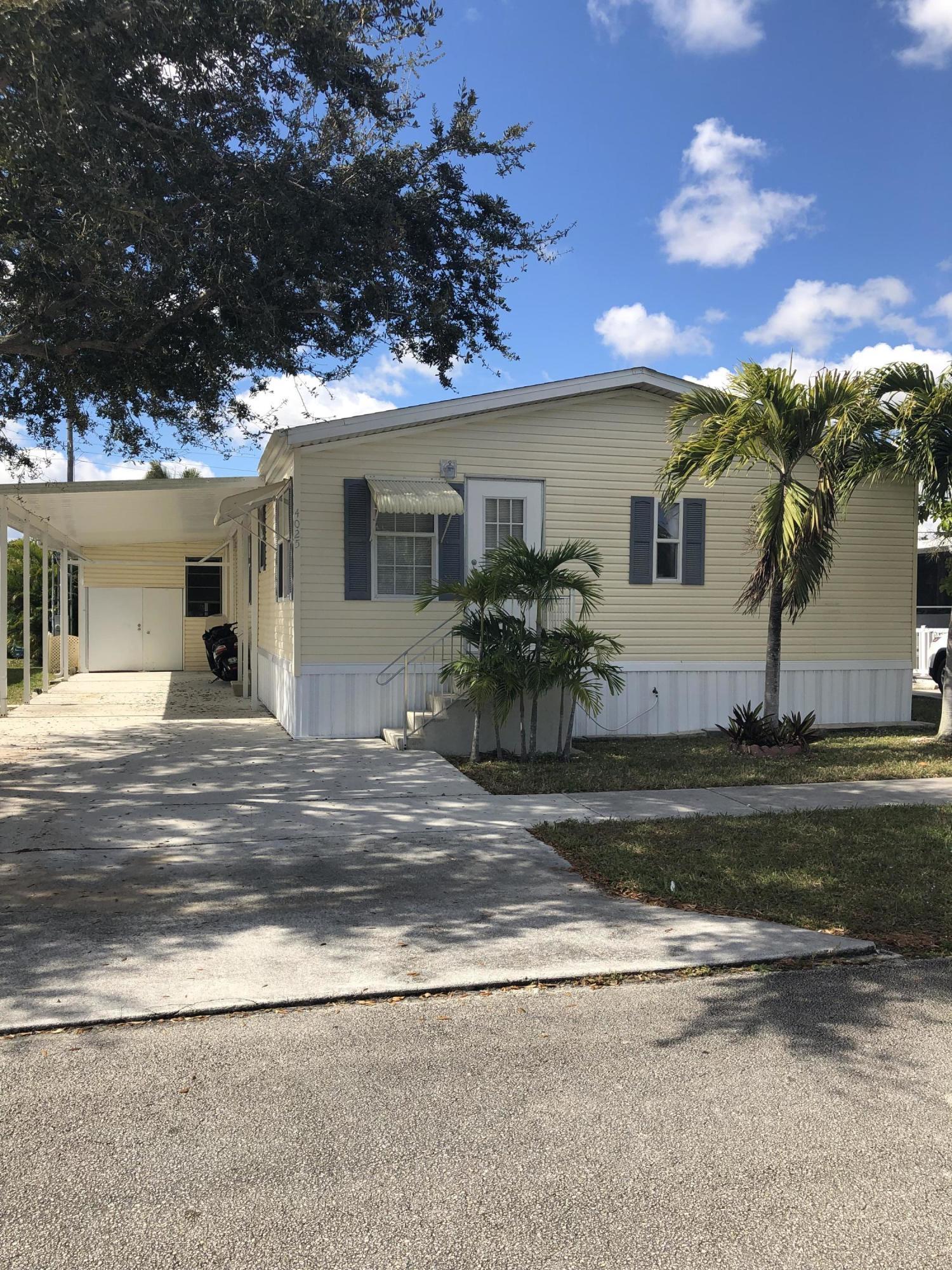 NORTHERN PINES MOBILE HOME PARK 3 home 4025 Bougainvillea Road Boynton Beach FL 33436
