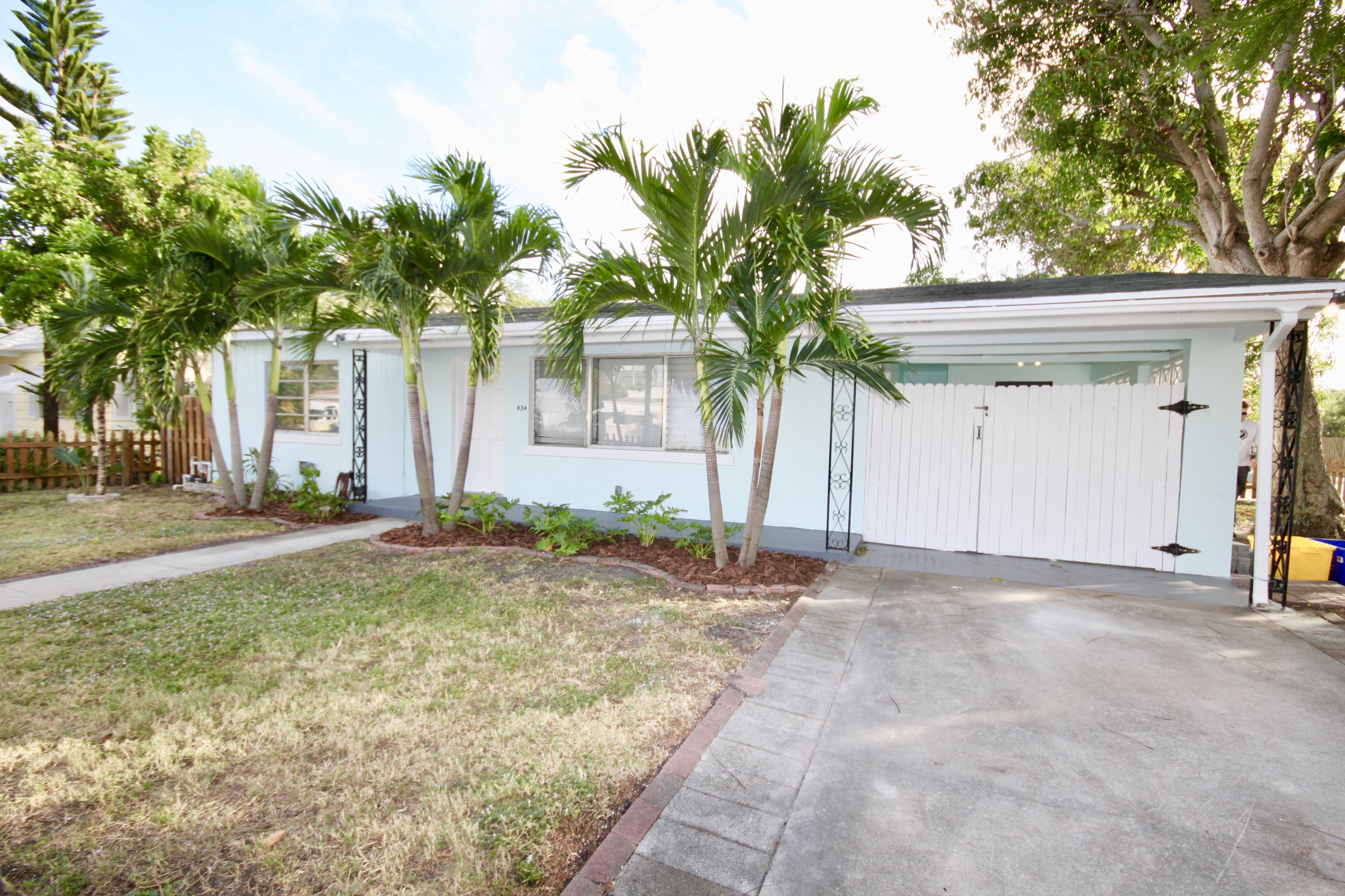 Home for sale in Northwood Estates West Palm Beach Florida