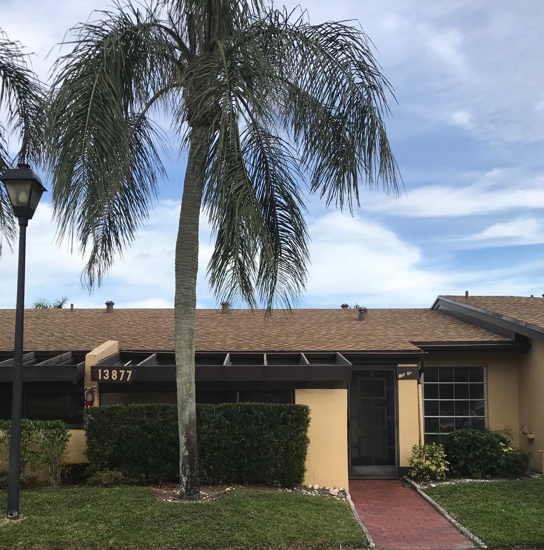 PALM GREENS AT VILLA DEL RAY CONDO II home 13877 Via Aurora Delray Beach FL 33484
