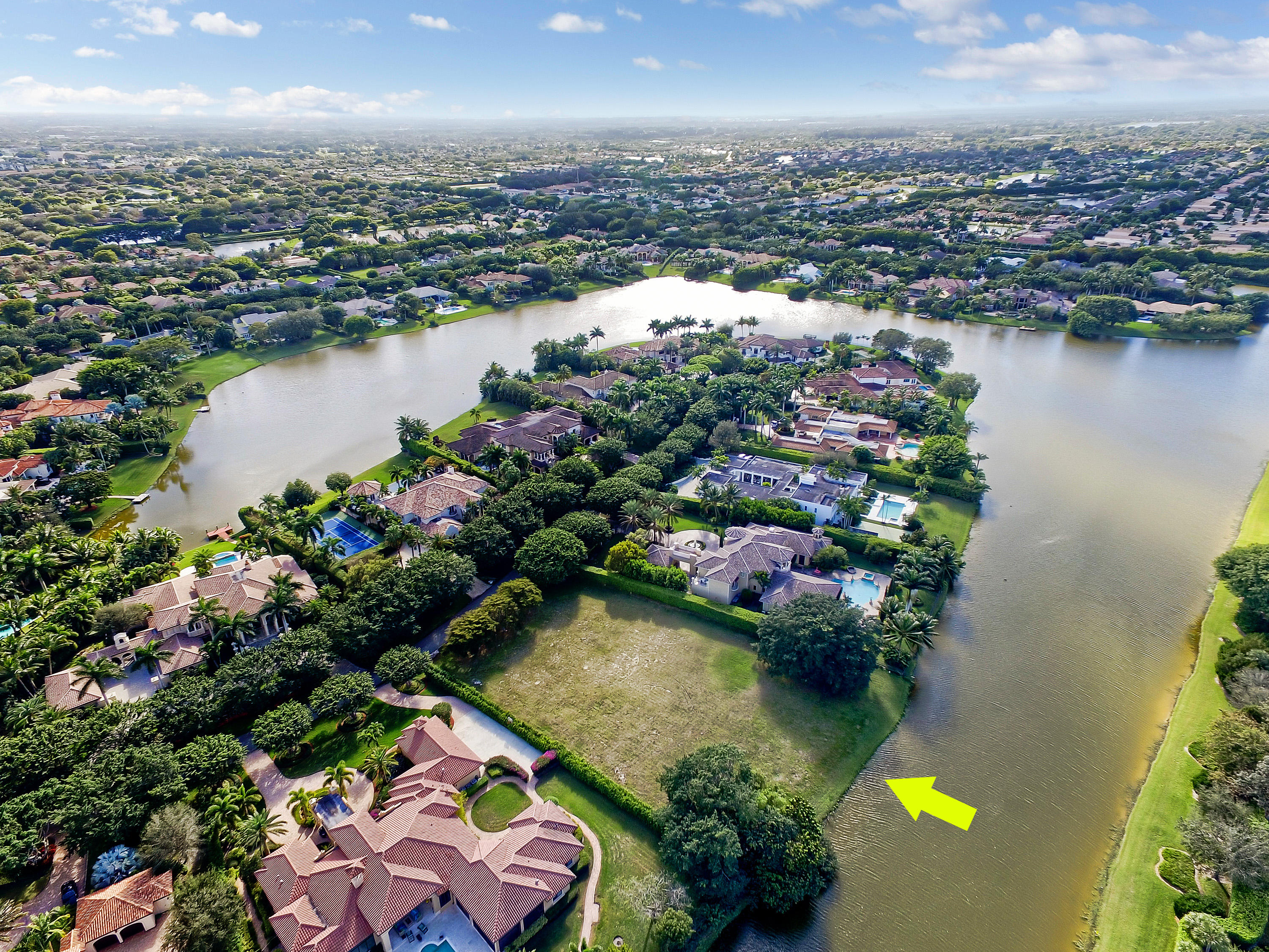 Home for sale in Long Lake Estates Boca Raton Florida