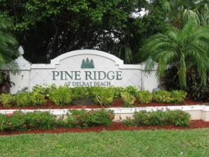 Pine Ridge At Delray Beach Condo