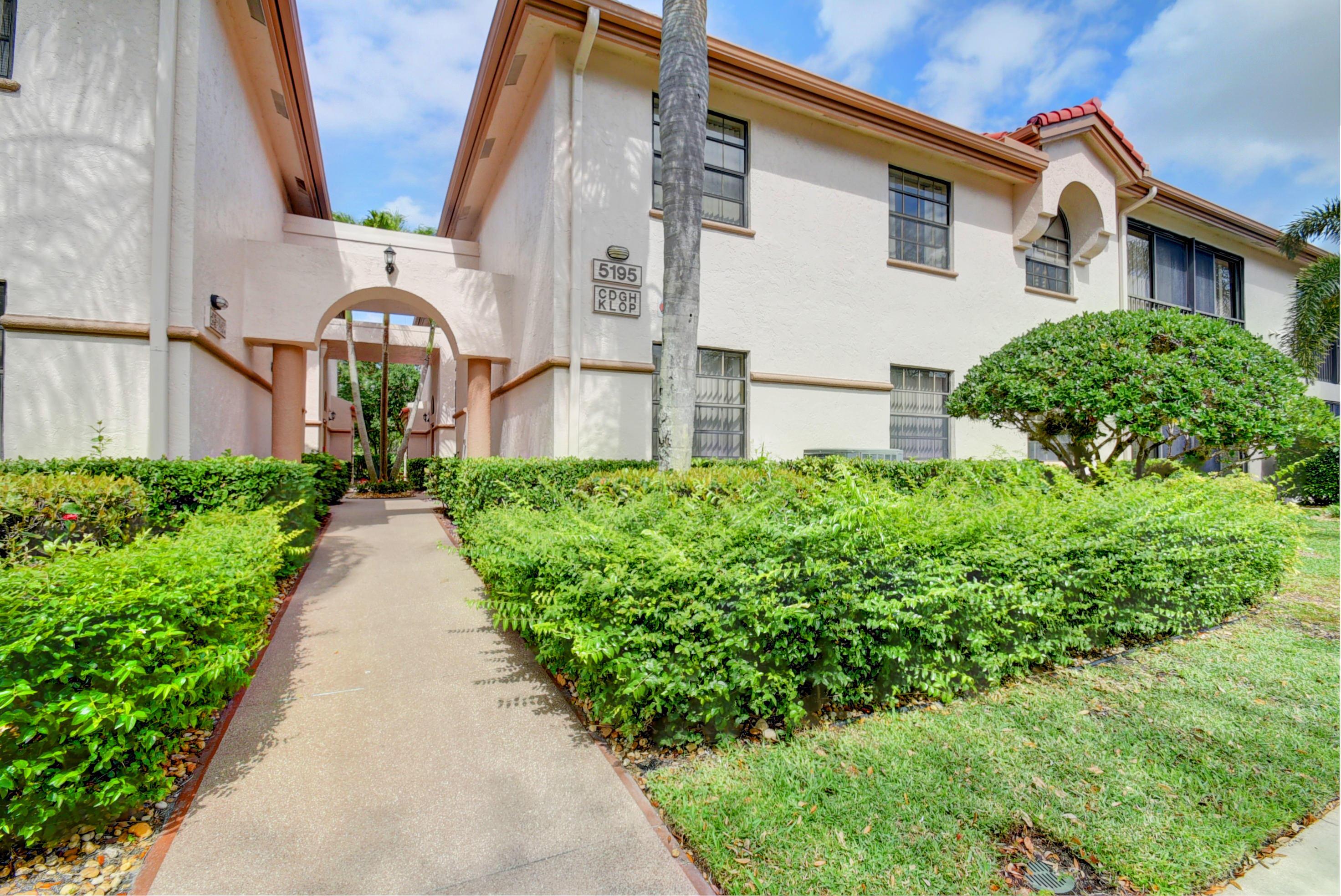 PLATINA DIAMANTE VILLAGE CONDS A-D home 5195 Europa Drive Boynton Beach FL 33437