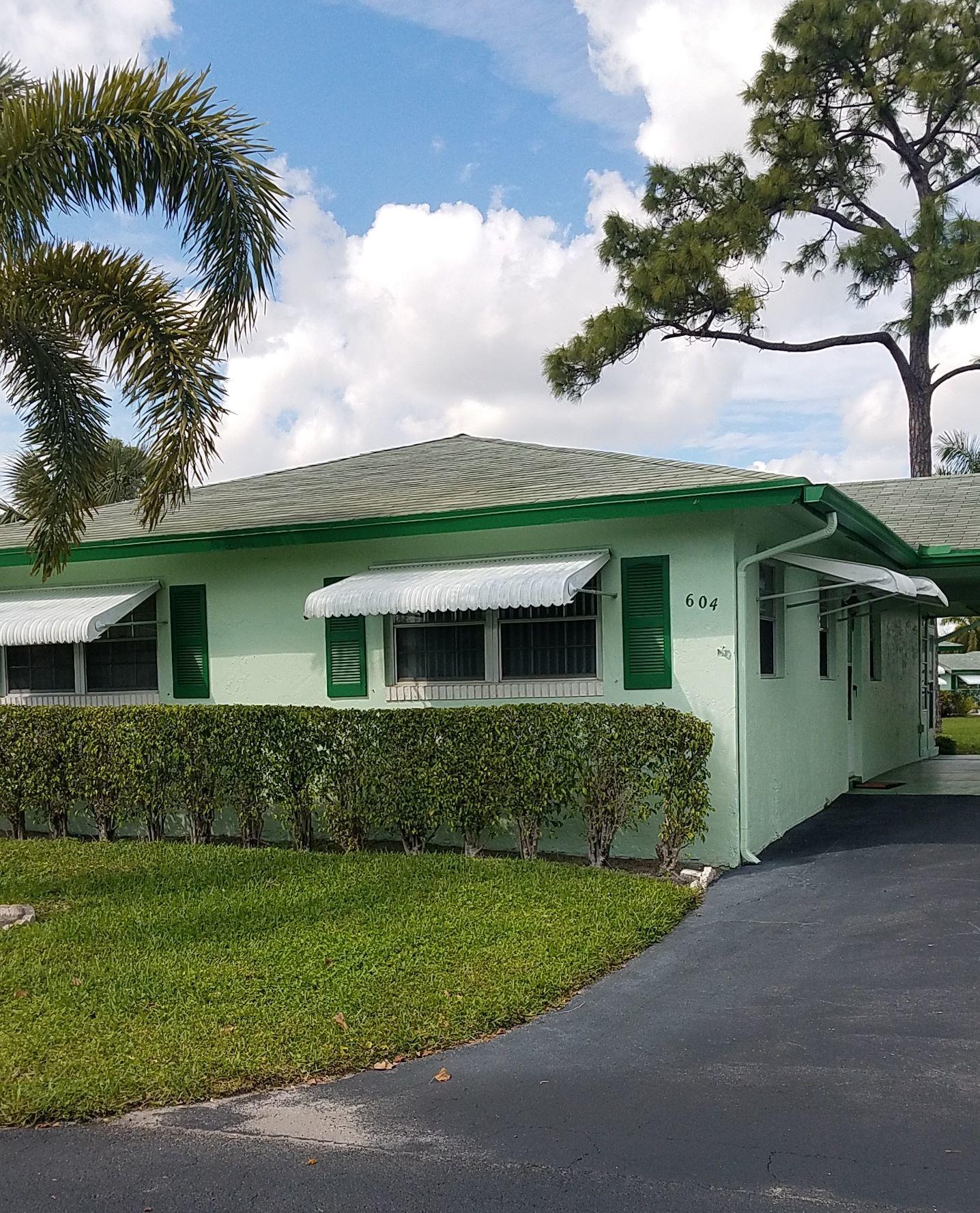 604 Hummingbird Lane 604  Delray Beach, FL 33445