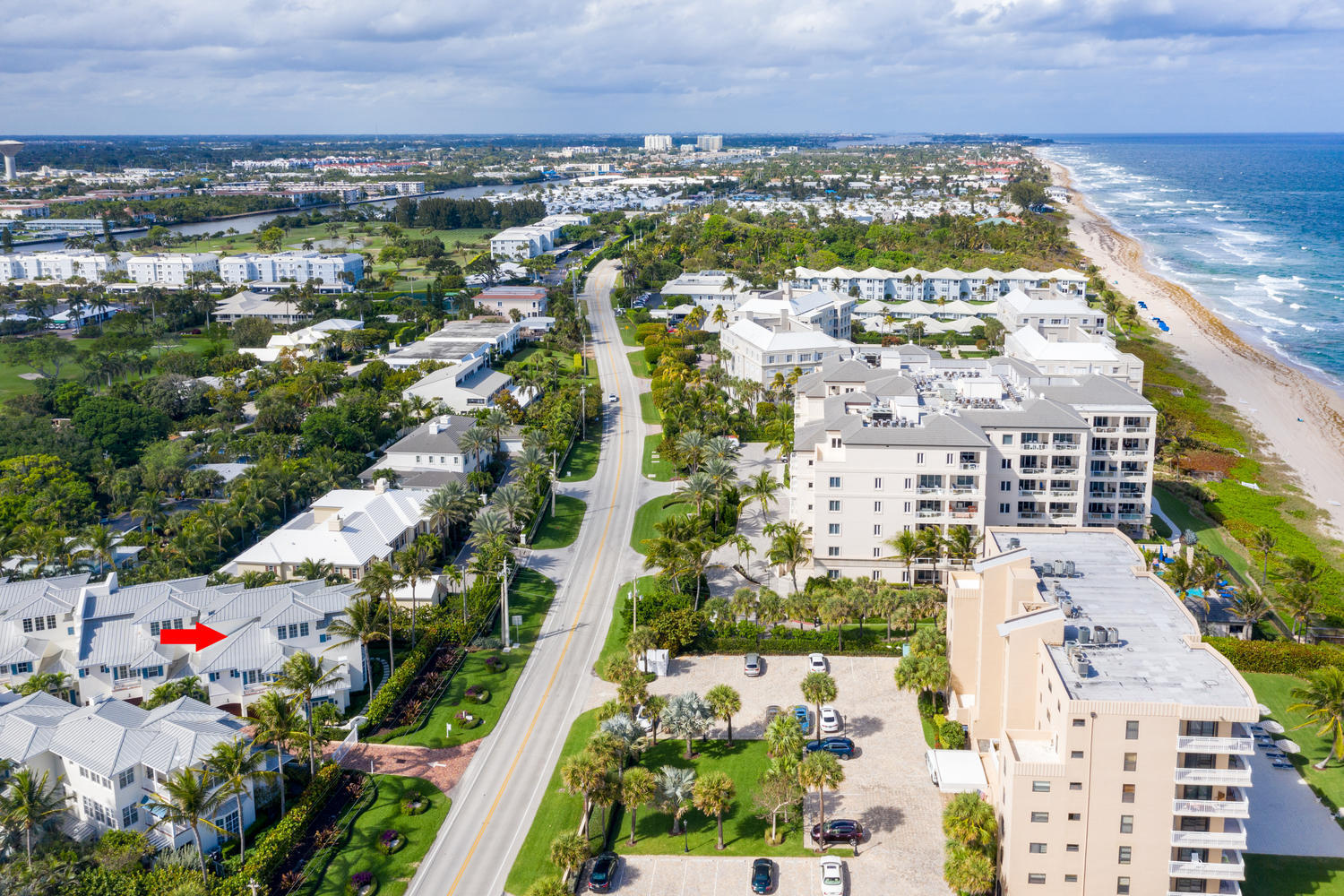 Home for sale in Beachside Townhome Gulf Stream Florida