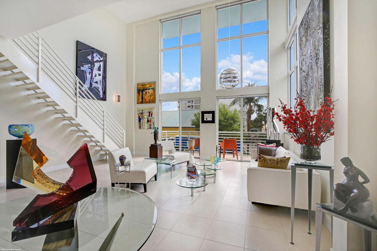 Home for sale in Lake Avenue Lofts Condominium unit 203 Lake Worth Florida